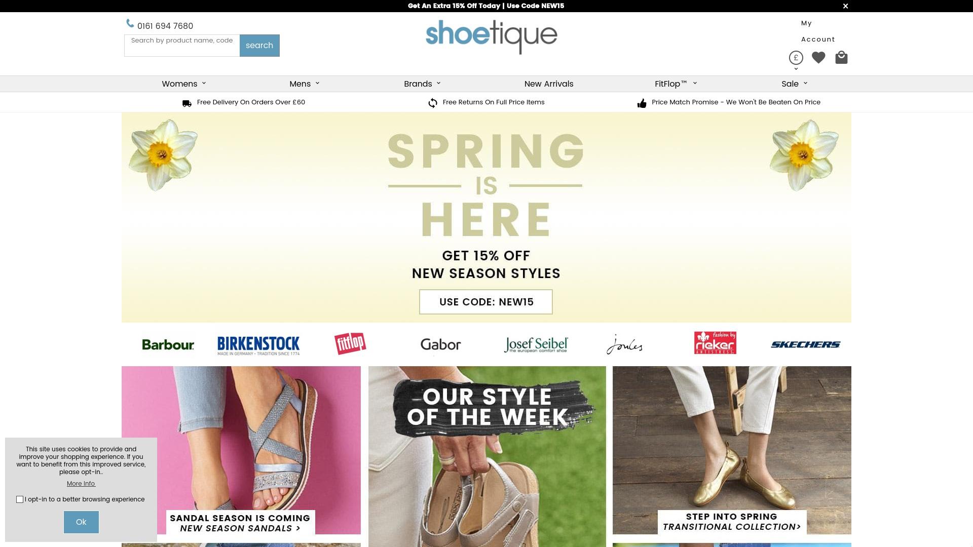 Gutschein für Shoetique: Rabatte für  Shoetique sichern