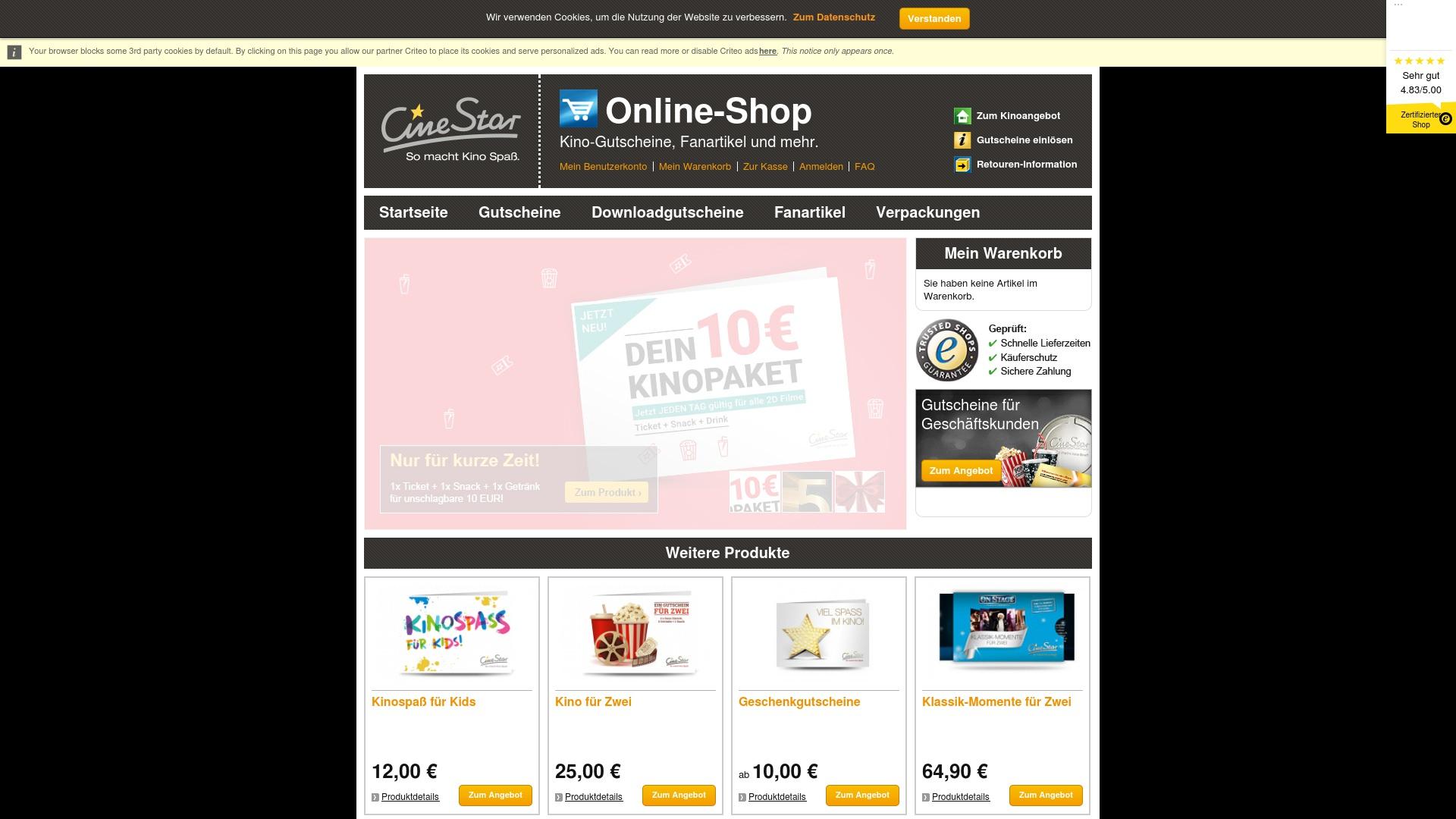 Gutschein für Shop: Rabatte für  Shop sichern