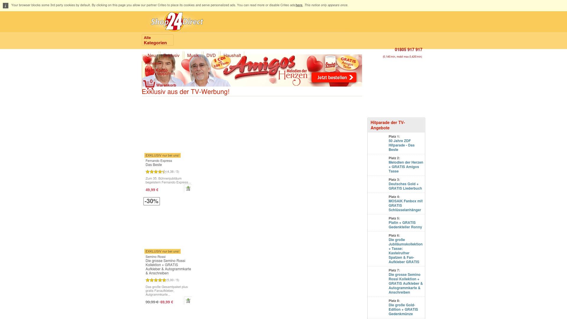 Gutschein für Shop24direct: Rabatte für  Shop24direct sichern