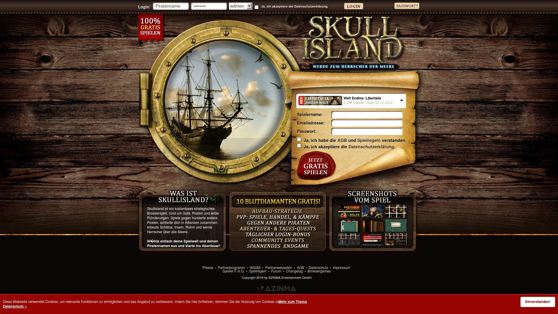 Gutschein für Skullisland: Rabatte für  Skullisland sichern
