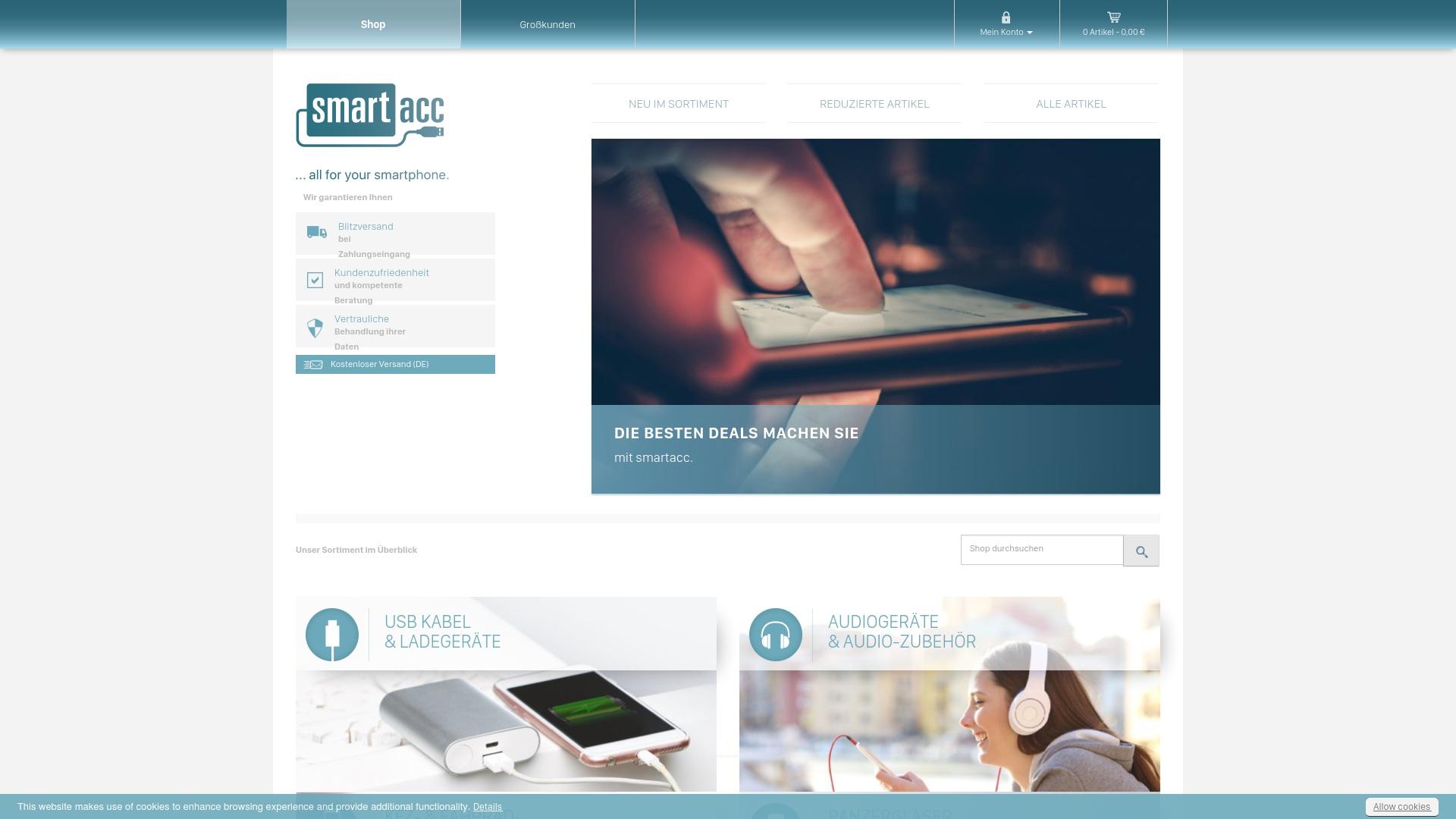 Gutschein für Smartacc: Rabatte für  Smartacc sichern
