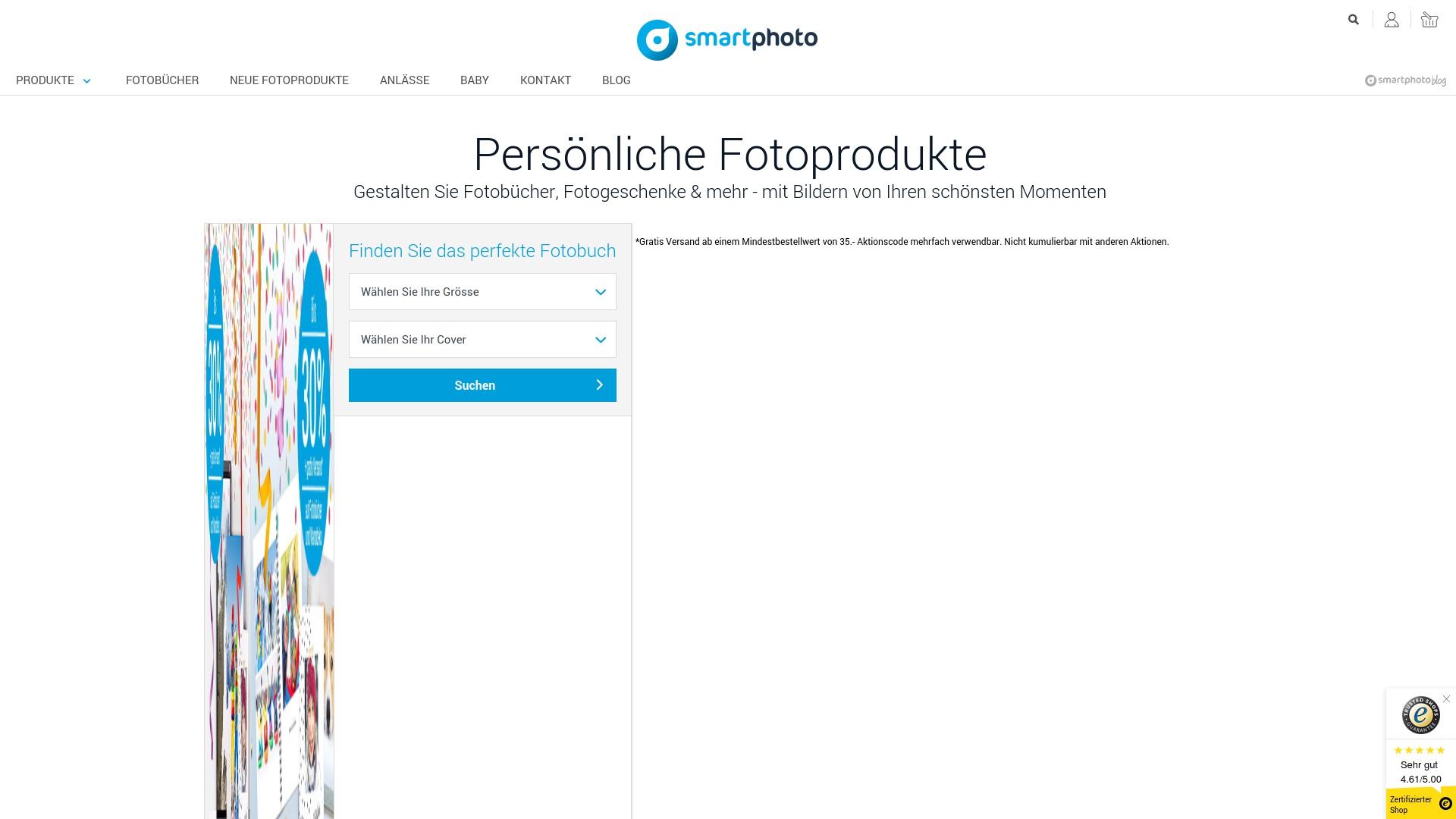 Gutschein für Smartphoto: Rabatte für  Smartphoto sichern