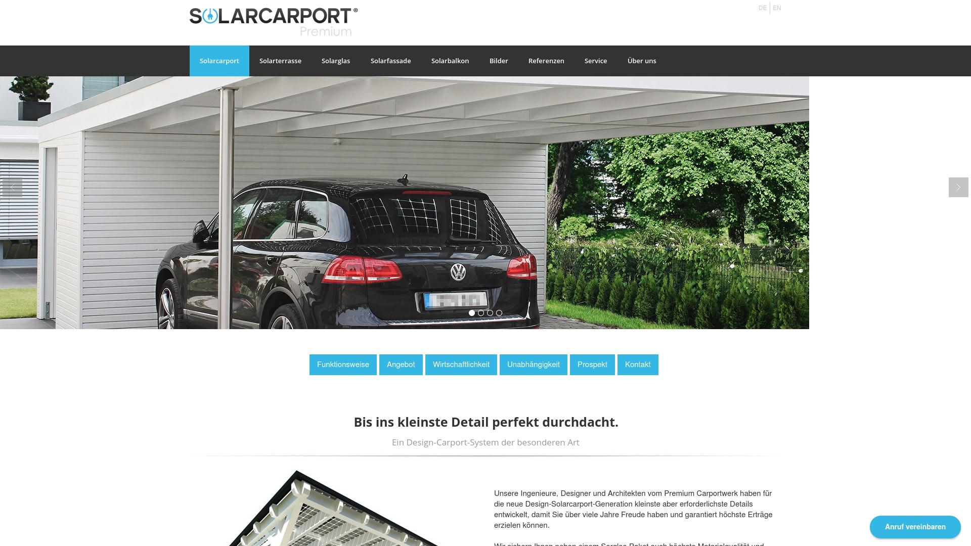 Gutschein für Solarcarporte: Rabatte für  Solarcarporte sichern