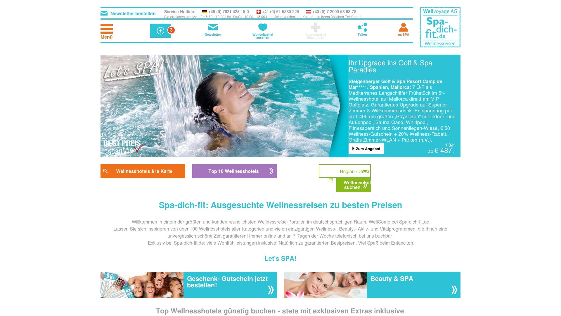 Gutschein für Spa-dich-fit: Rabatte für  Spa-dich-fit sichern