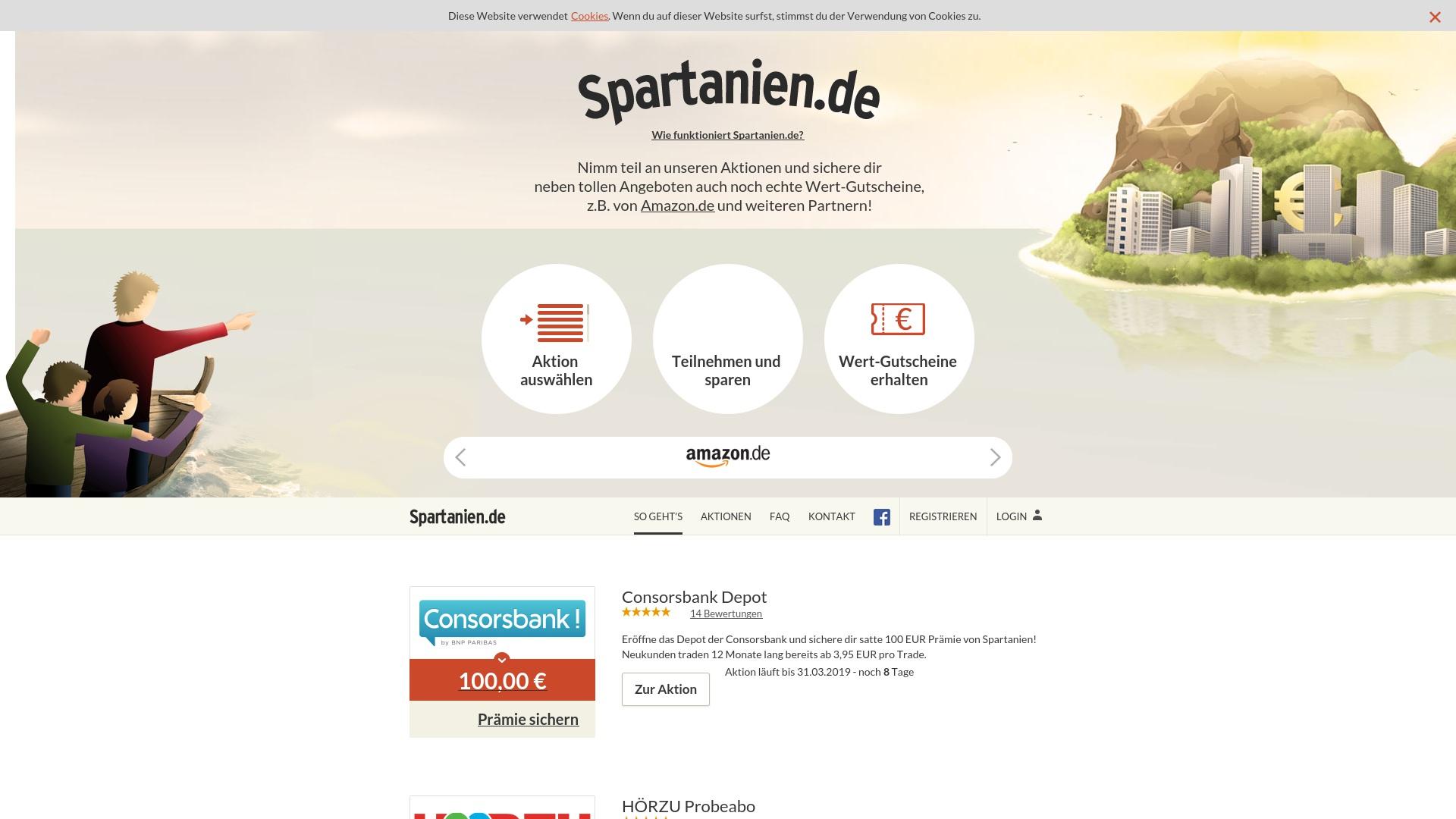Gutschein für Spartanien: Rabatte für  Spartanien sichern