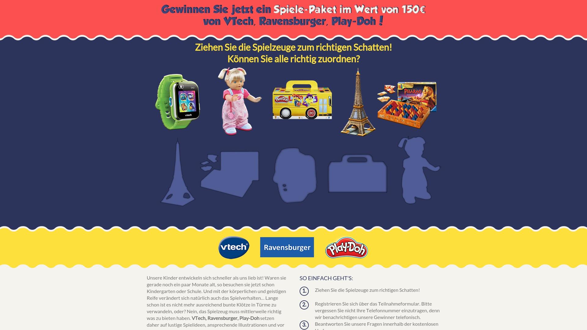 Gutschein für Spielzeug-gewinnen: Rabatte für  Spielzeug-gewinnen sichern