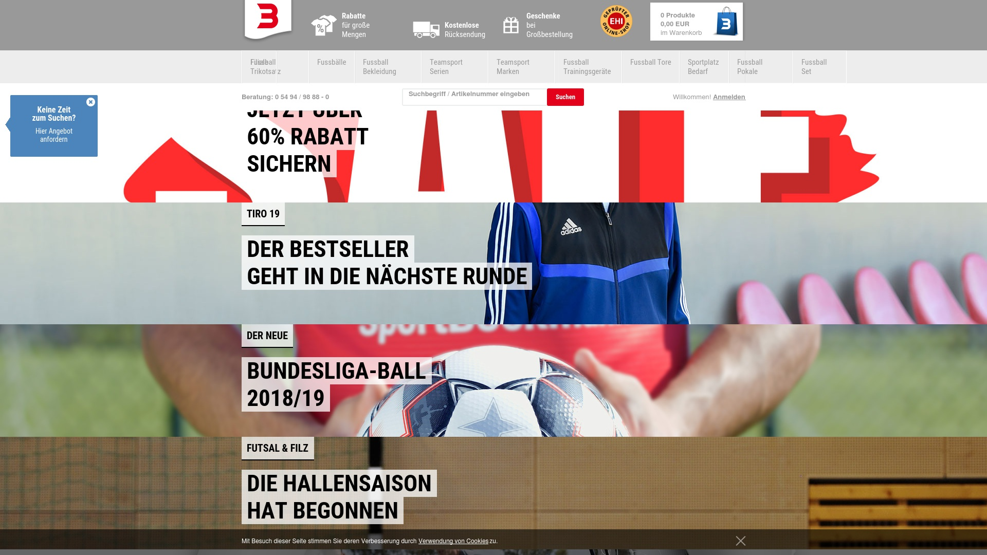 Gutschein für Sport-boeckmann: Rabatte für  Sport-boeckmann sichern