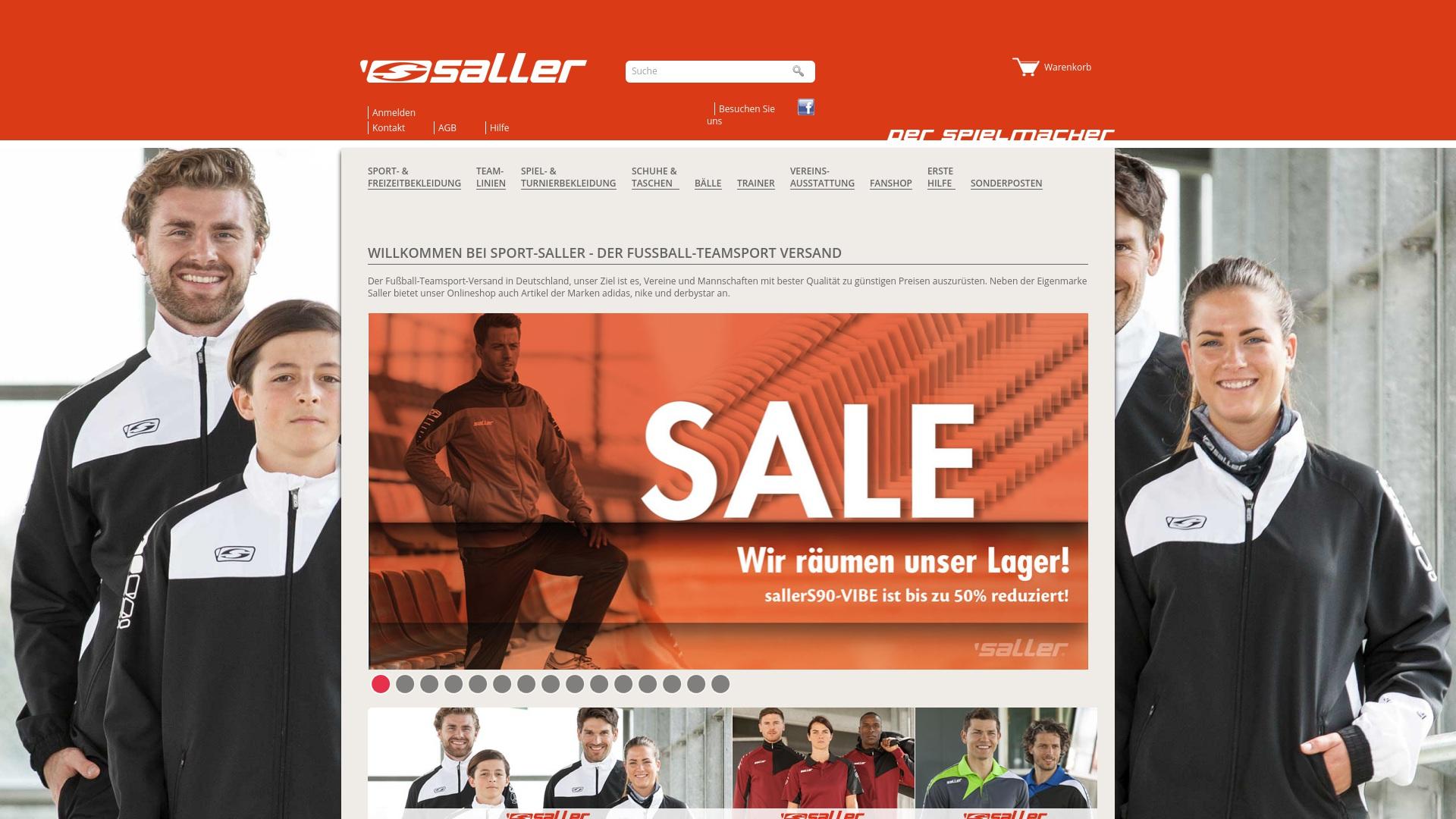 Gutschein für Sport-saller: Rabatte für Sport-saller sichern