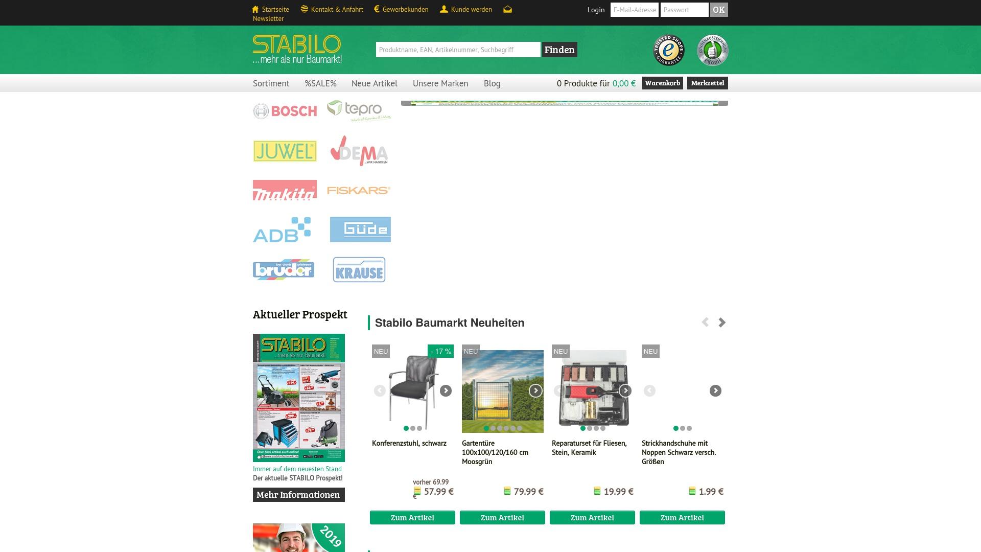 Gutschein für Stabilo-fachmarkt: Rabatte für  Stabilo-fachmarkt sichern