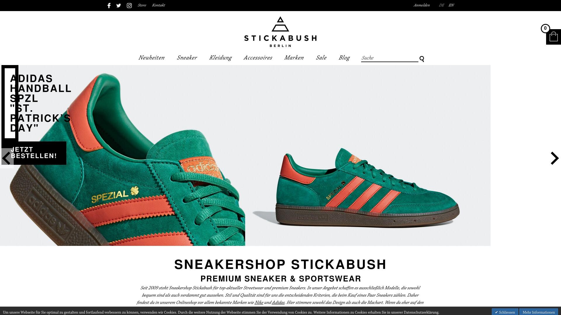 Gutschein für Stickabush: Rabatte für  Stickabush sichern