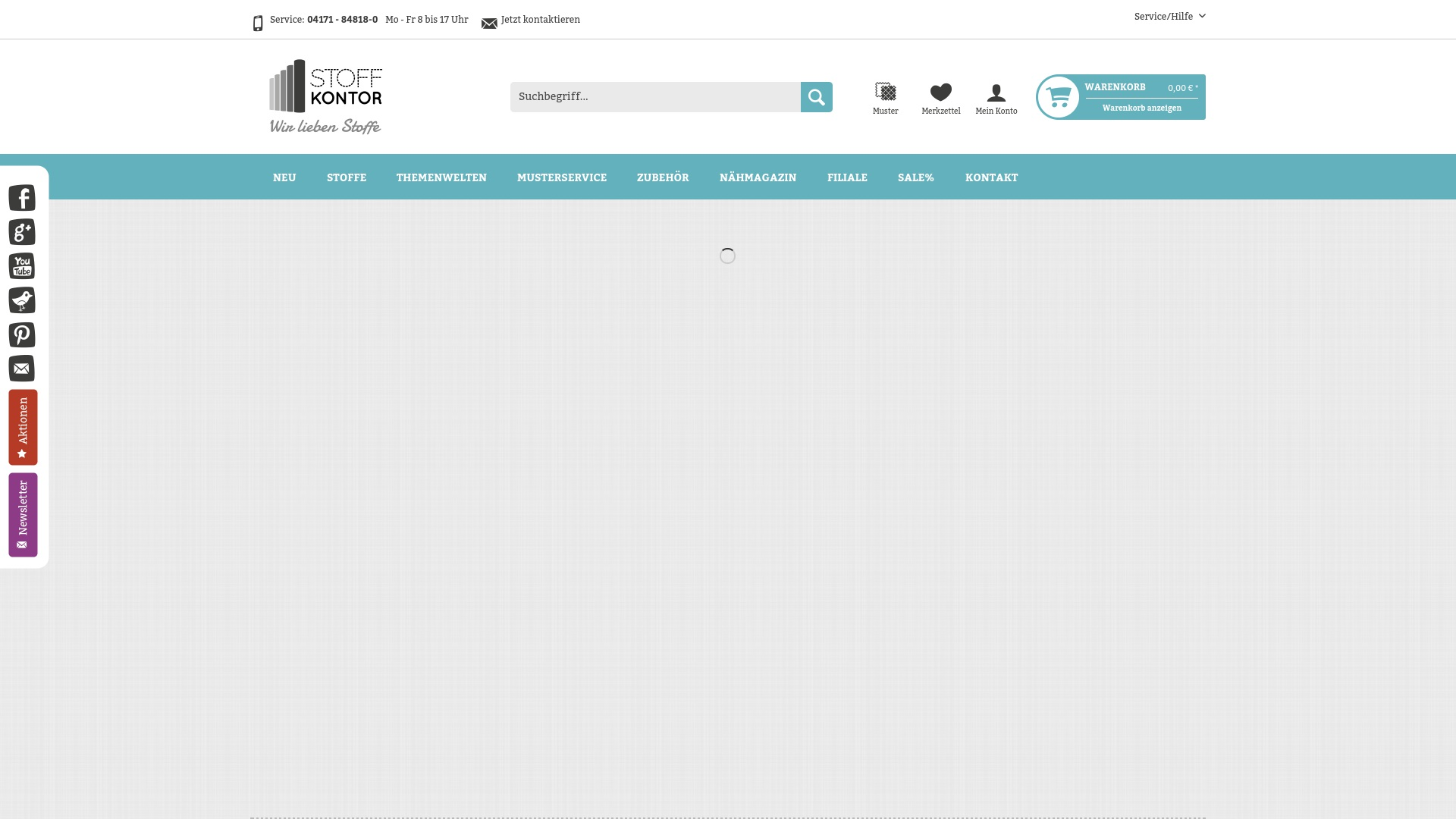 Gutschein für Stoffkontor: Rabatte für  Stoffkontor sichern