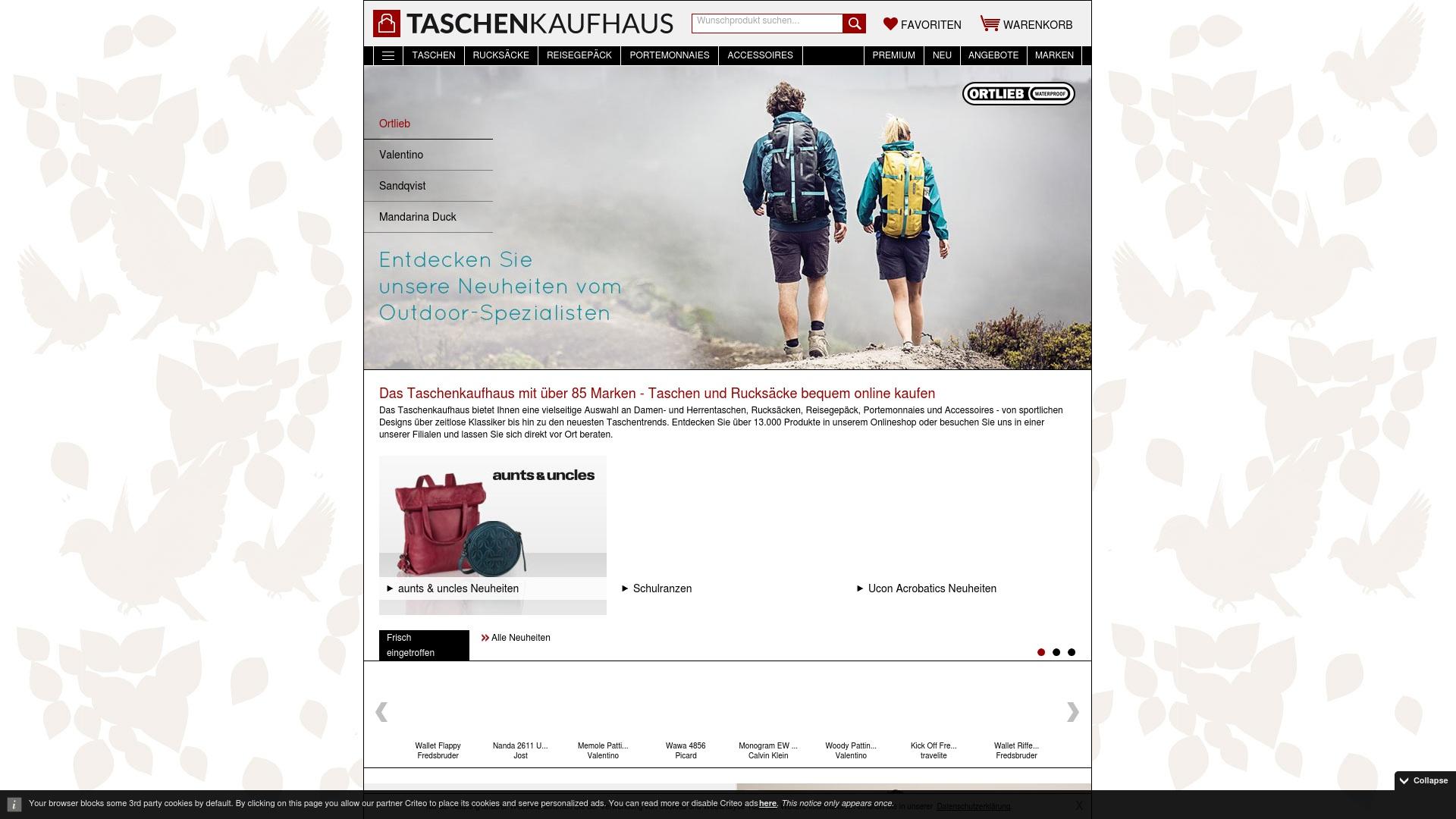 Gutschein für Taschenkaufhaus: Rabatte für  Taschenkaufhaus sichern