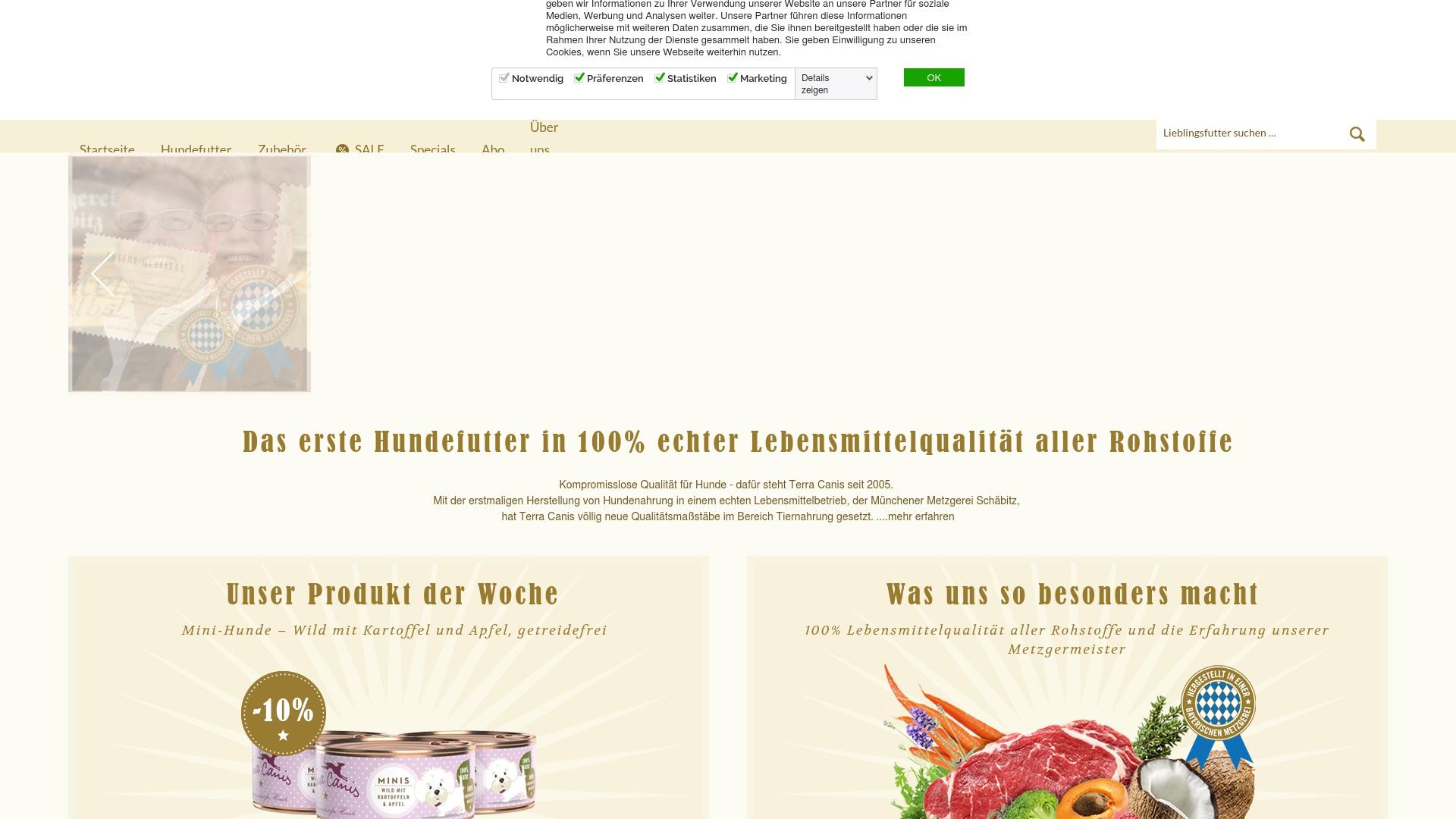 Gutschein für Terracanis: Rabatte für  Terracanis sichern