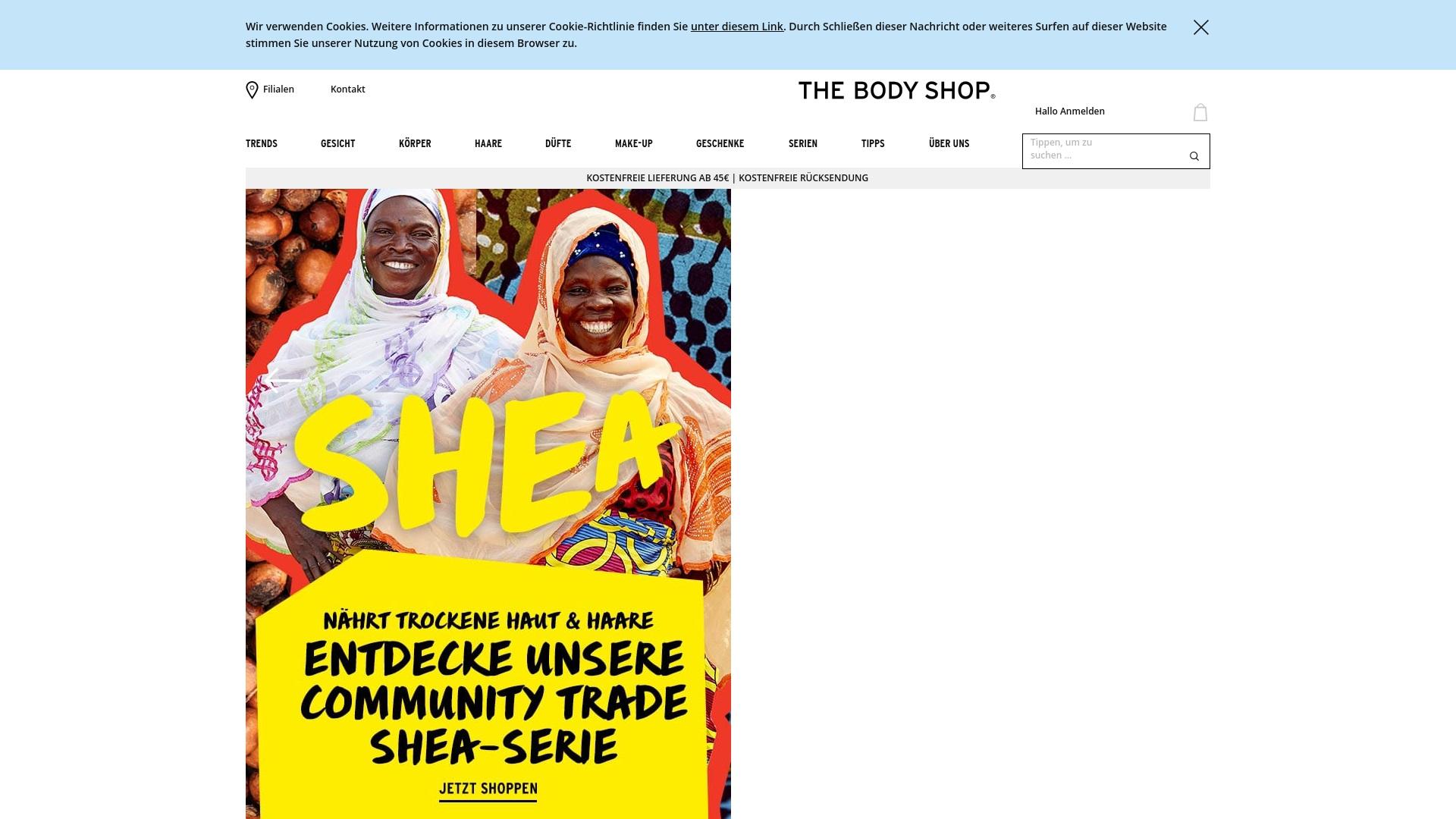 Gutschein für Thebodyshop: Rabatte für  Thebodyshop sichern