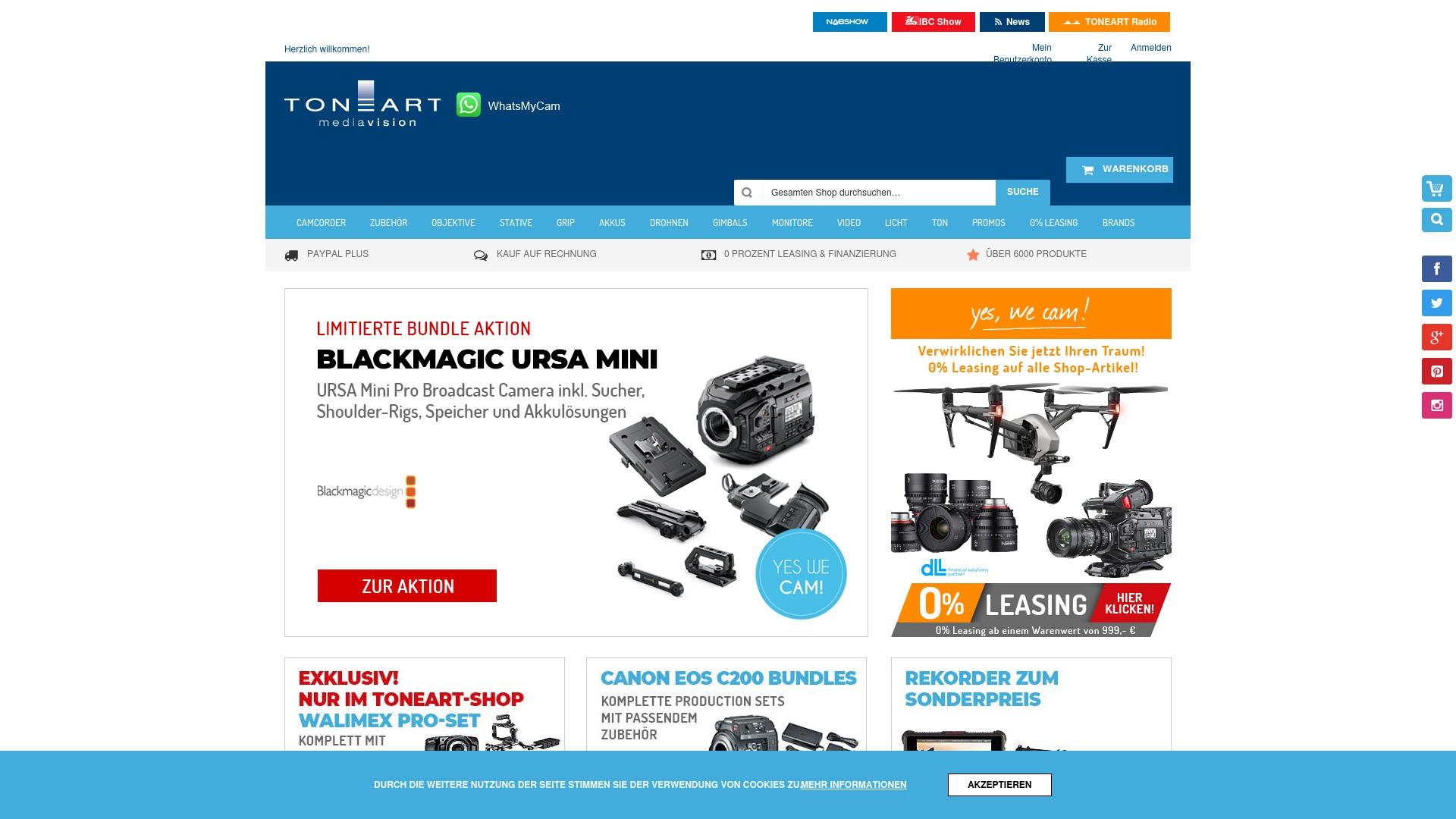 Gutschein für Toneart-shop: Rabatte für  Toneart-shop sichern