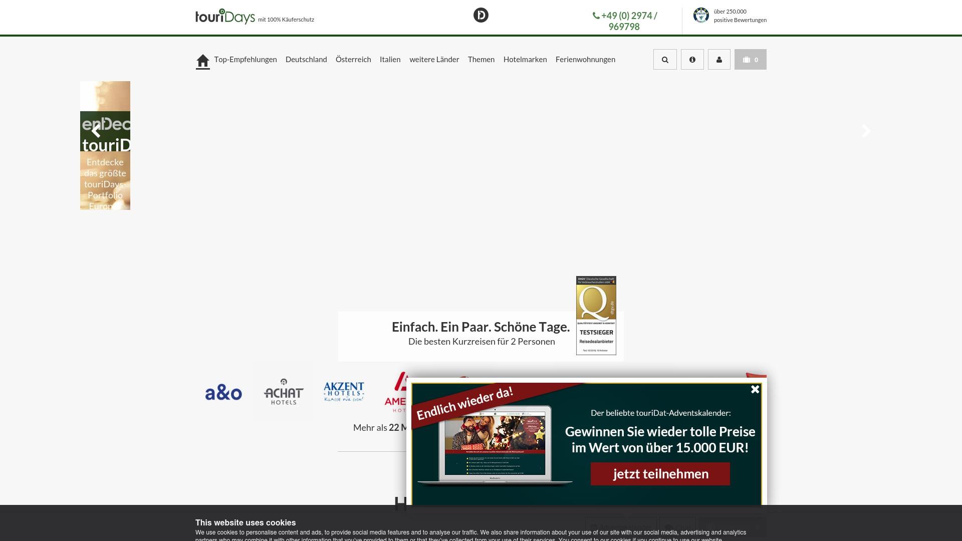Gutschein für Touridat: Rabatte für  Touridat sichern
