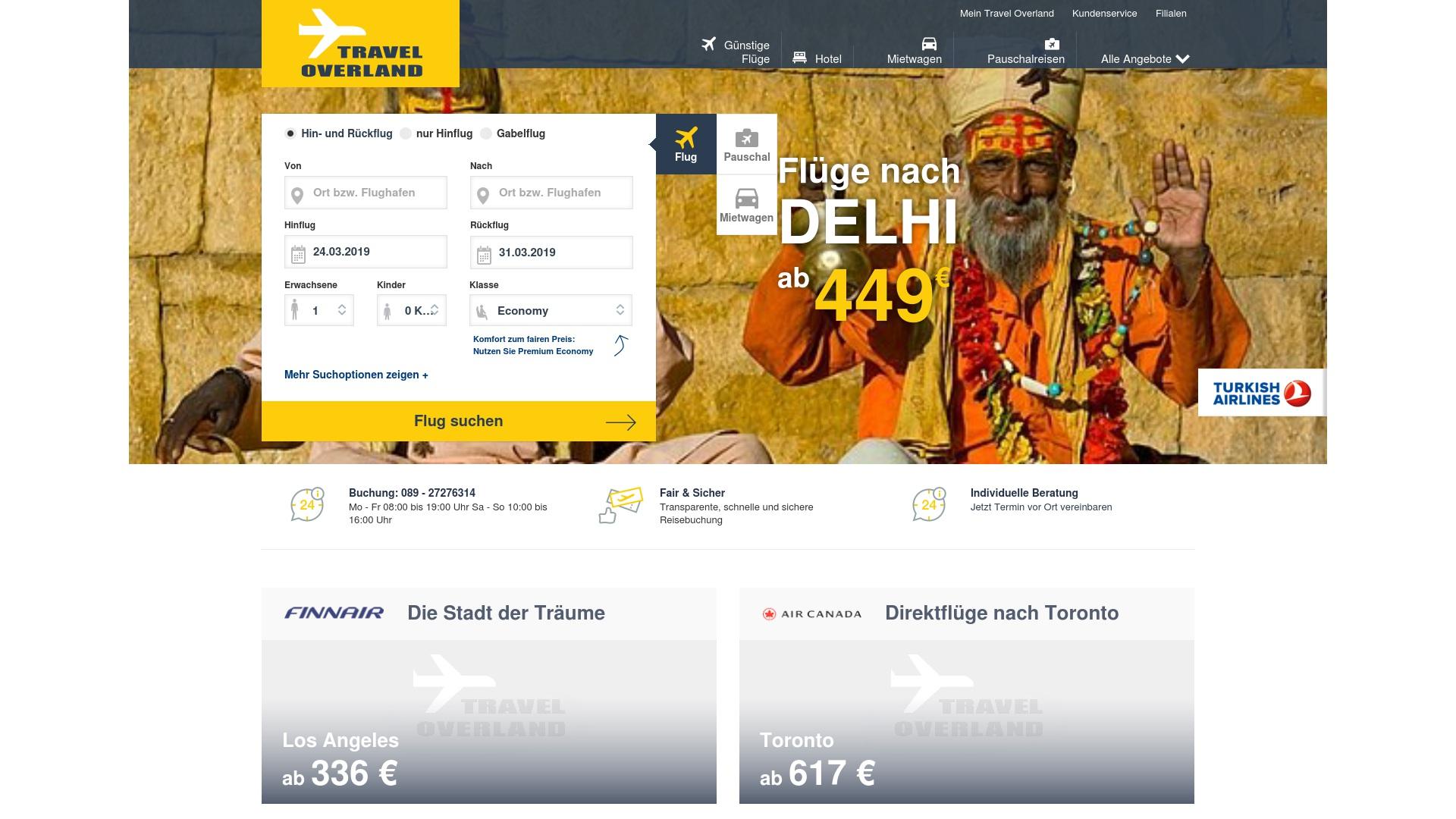 Gutschein für Travel-overland: Rabatte für  Travel-overland sichern