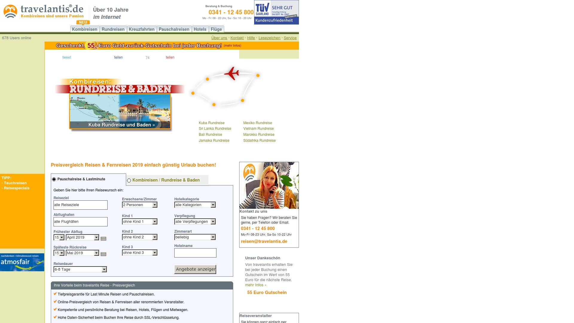 Gutschein für Travelantis: Rabatte für  Travelantis sichern