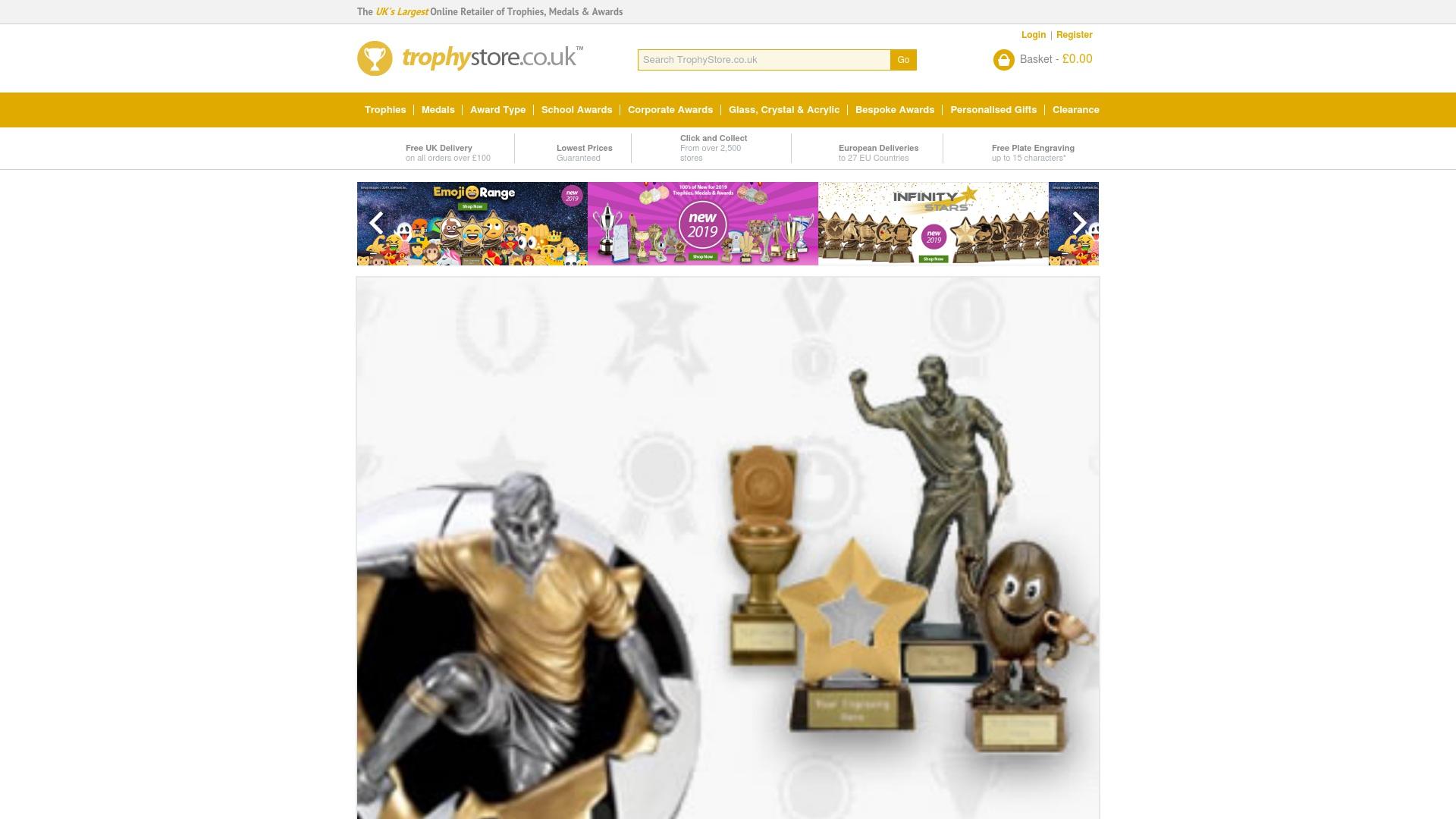 Gutschein für Trophystore: Rabatte für  Trophystore sichern
