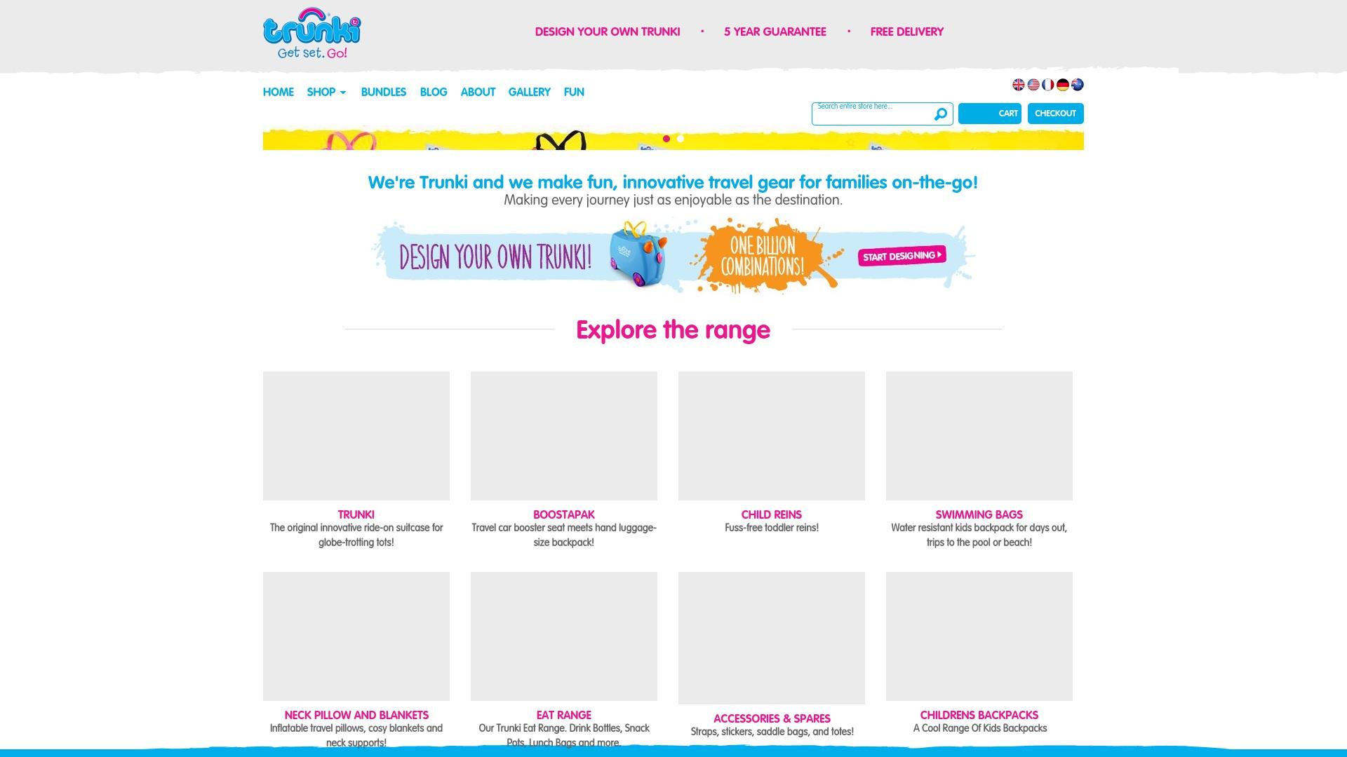 Gutschein für Trunki: Rabatte für  Trunki sichern