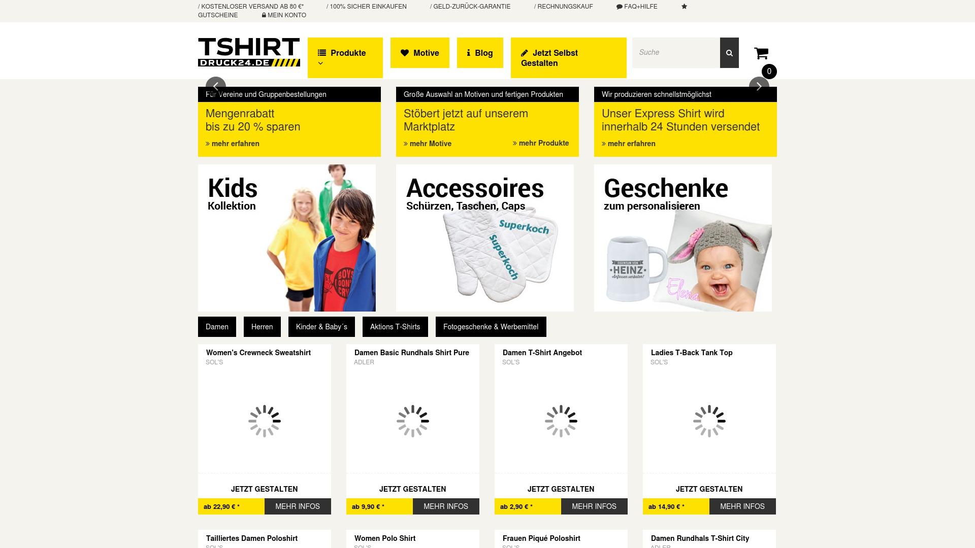 Gutschein für Tshirt-druck24: Rabatte für  Tshirt-druck24 sichern