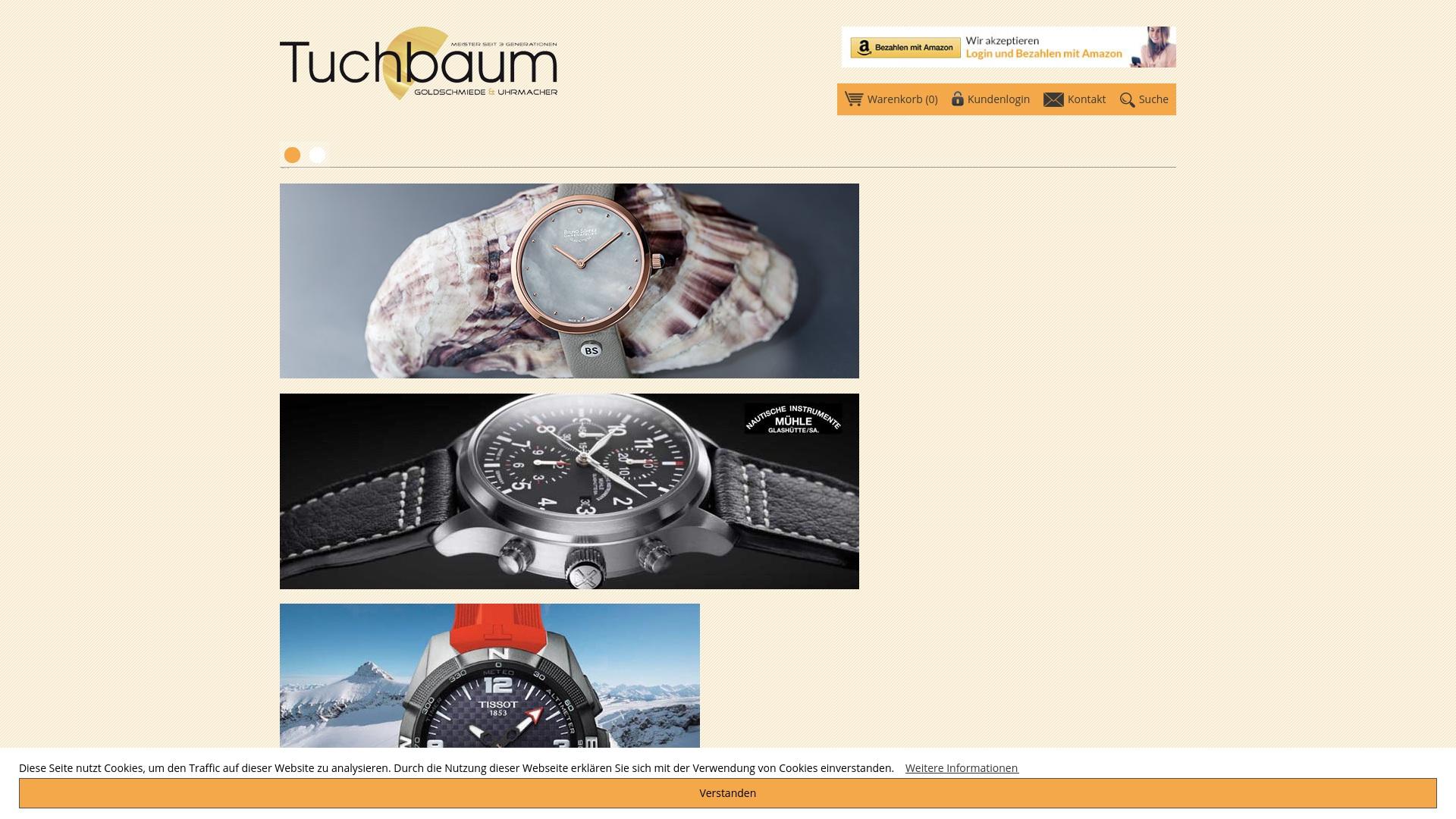 Gutschein für Tuchbaum-shop: Rabatte für  Tuchbaum-shop sichern