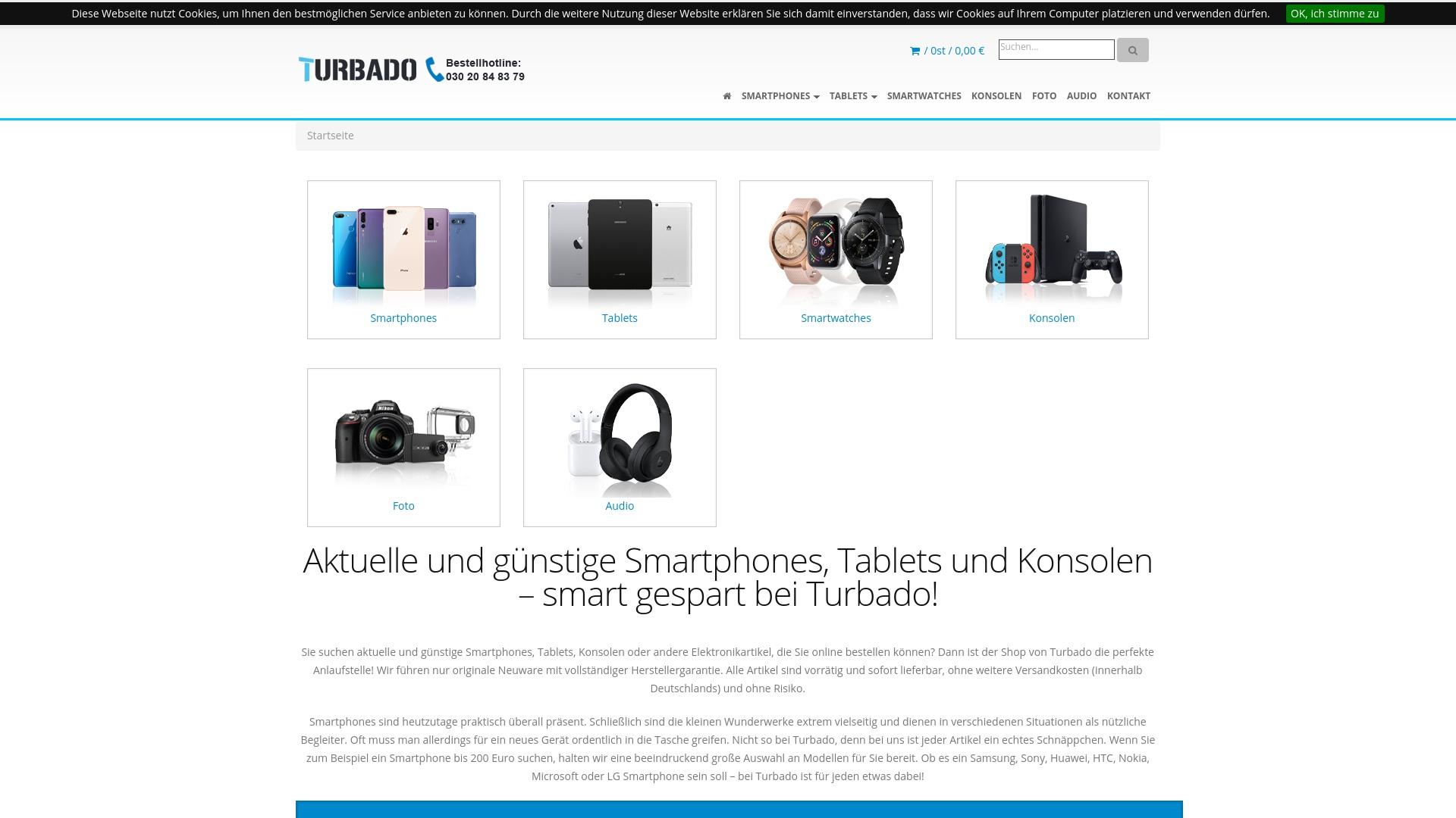Gutschein für Turbado: Rabatte für  Turbado sichern