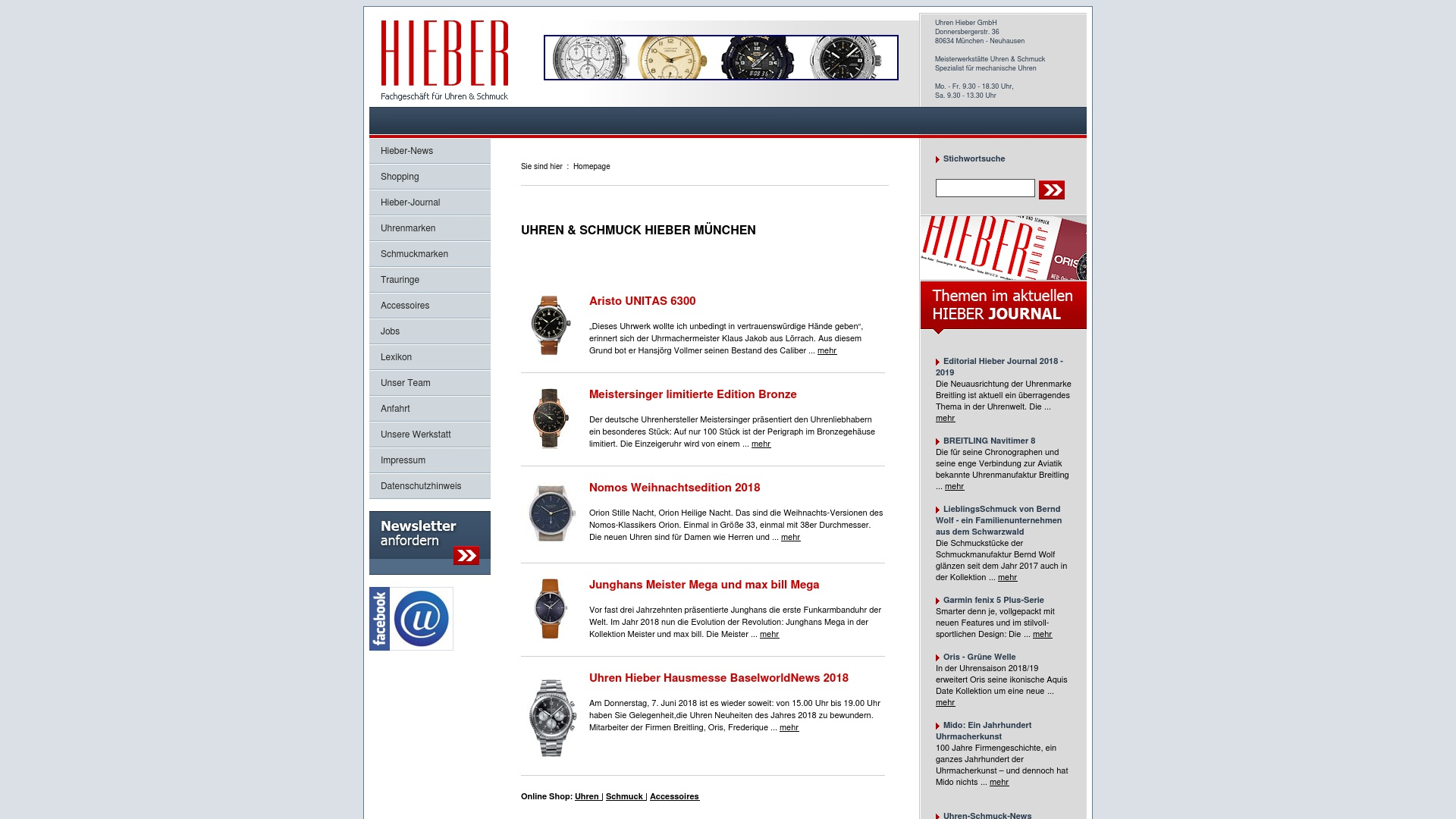 Gutschein für Uhren-hieber: Rabatte für  Uhren-hieber sichern