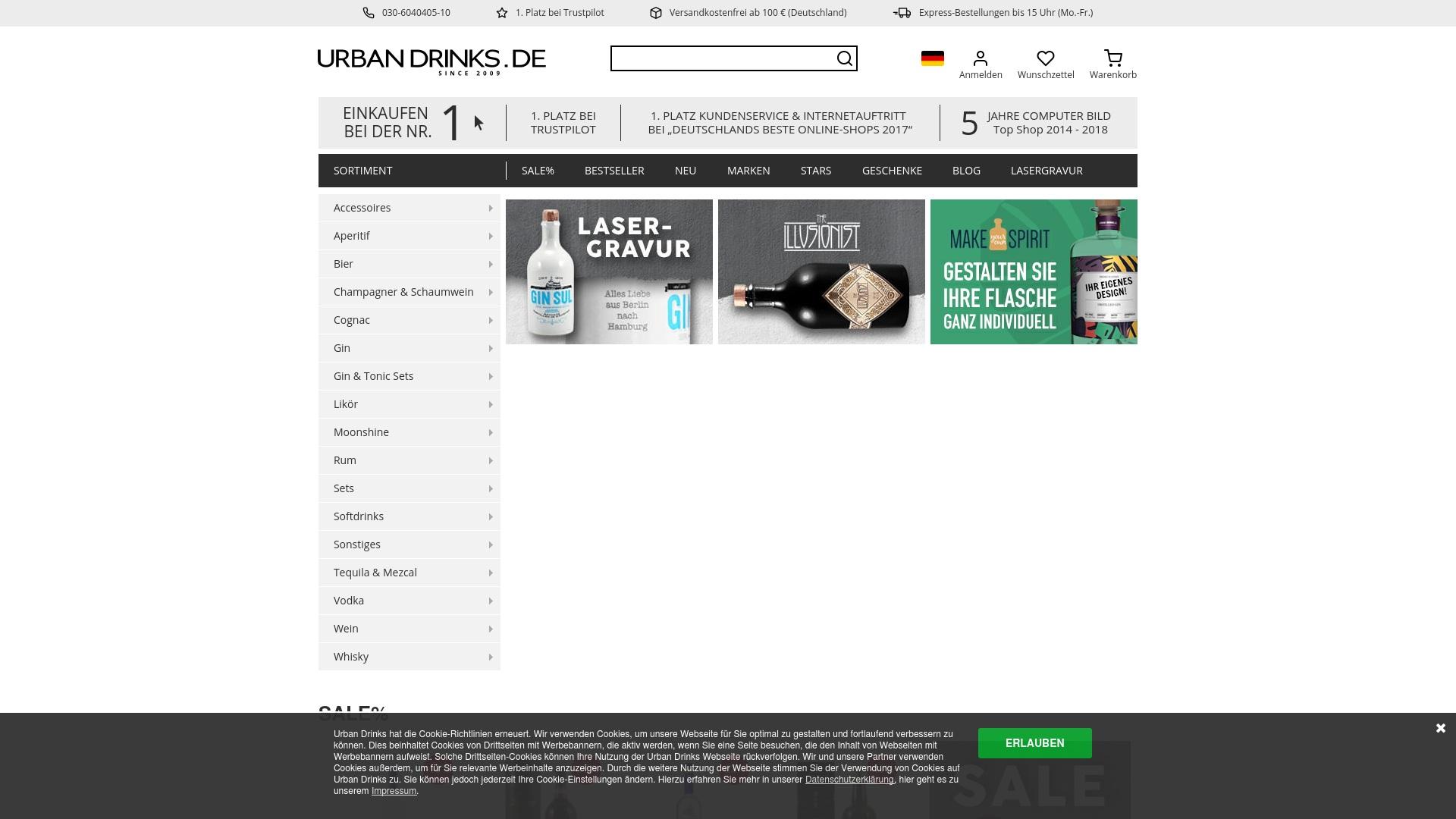 Gutschein für Urban-drinks: Rabatte für  Urban-drinks sichern