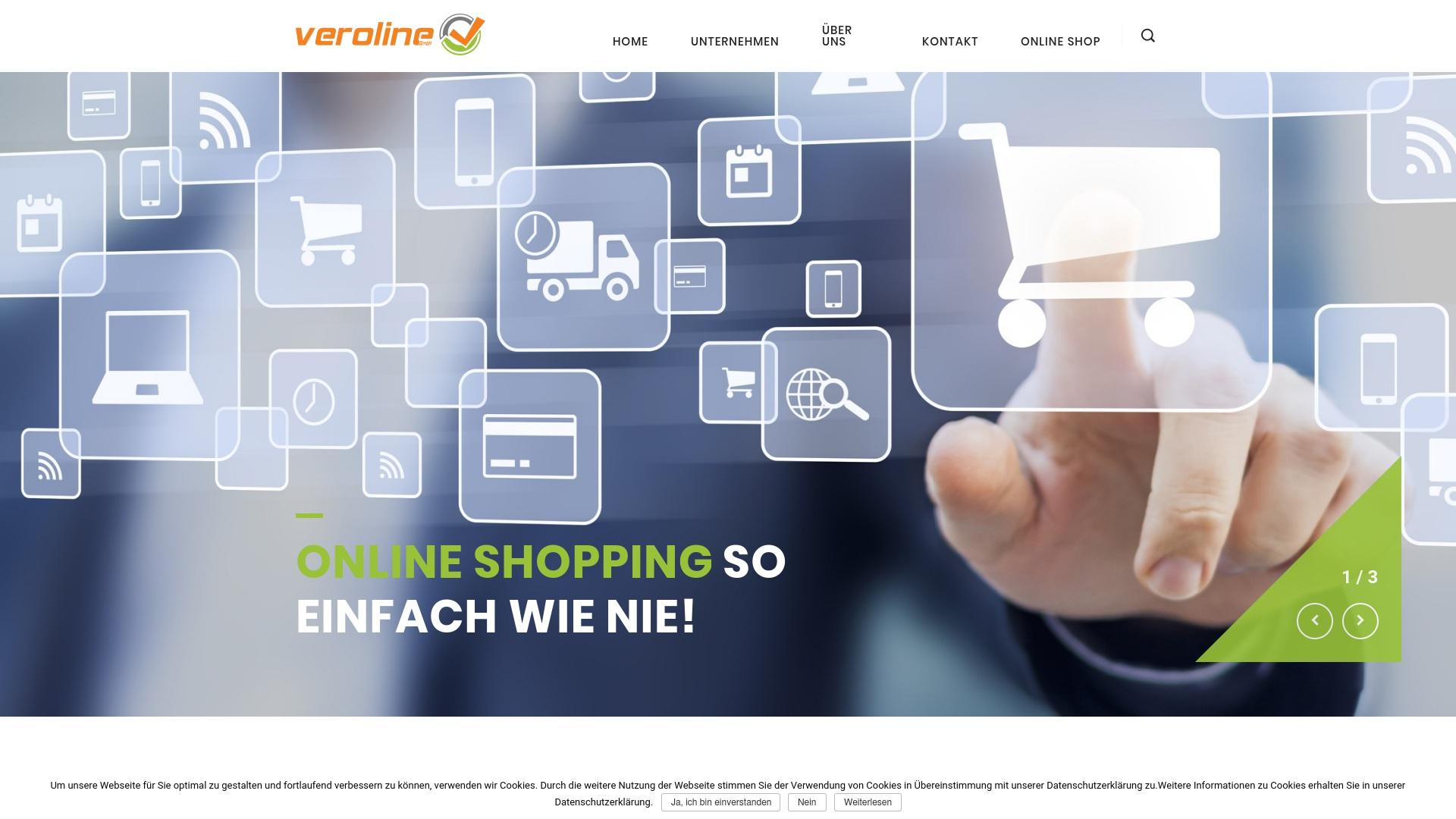 Gutschein für Veroline: Rabatte für  Veroline sichern