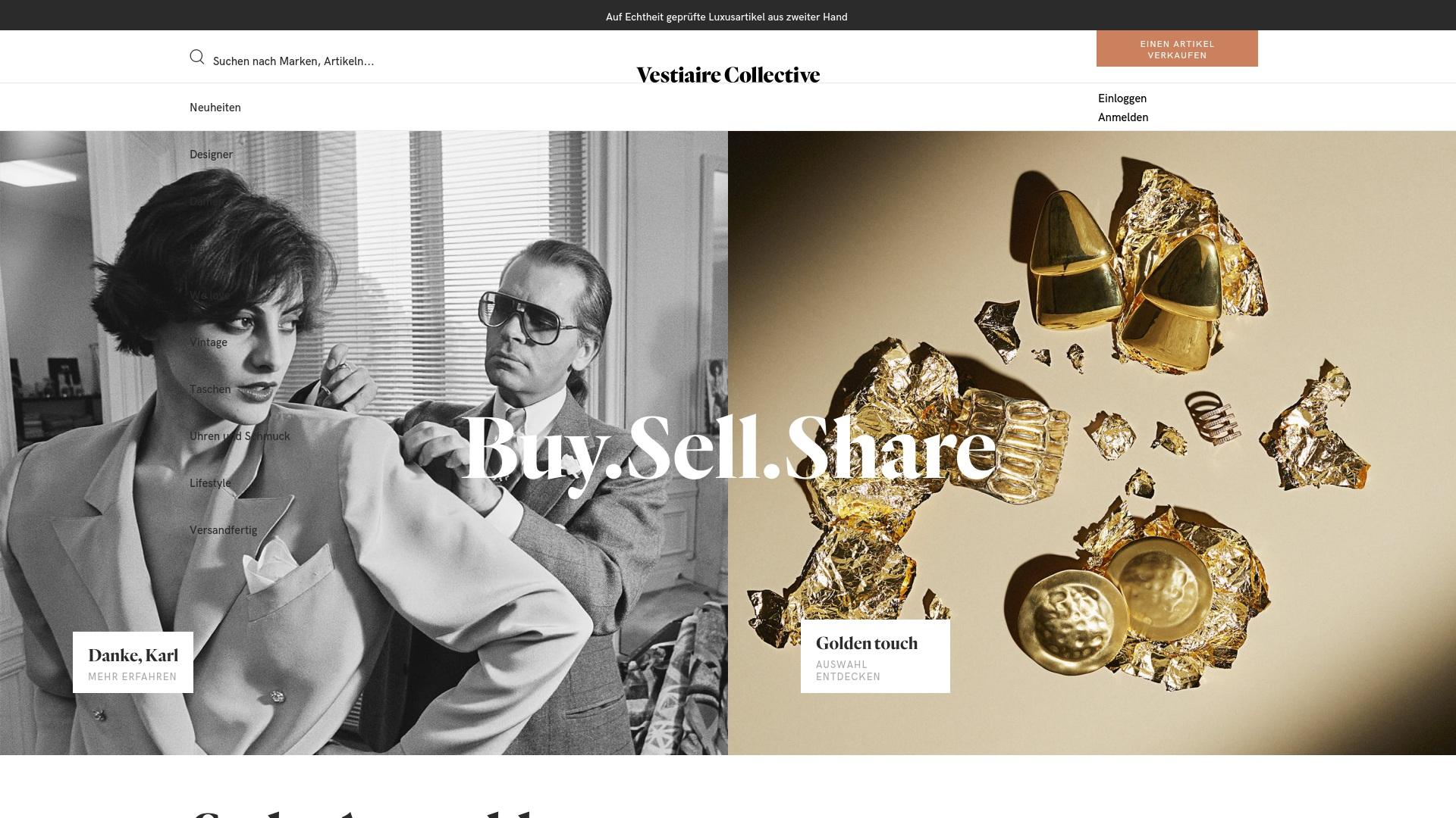 Gutschein für Vestiairecollective: Rabatte für  Vestiairecollective sichern