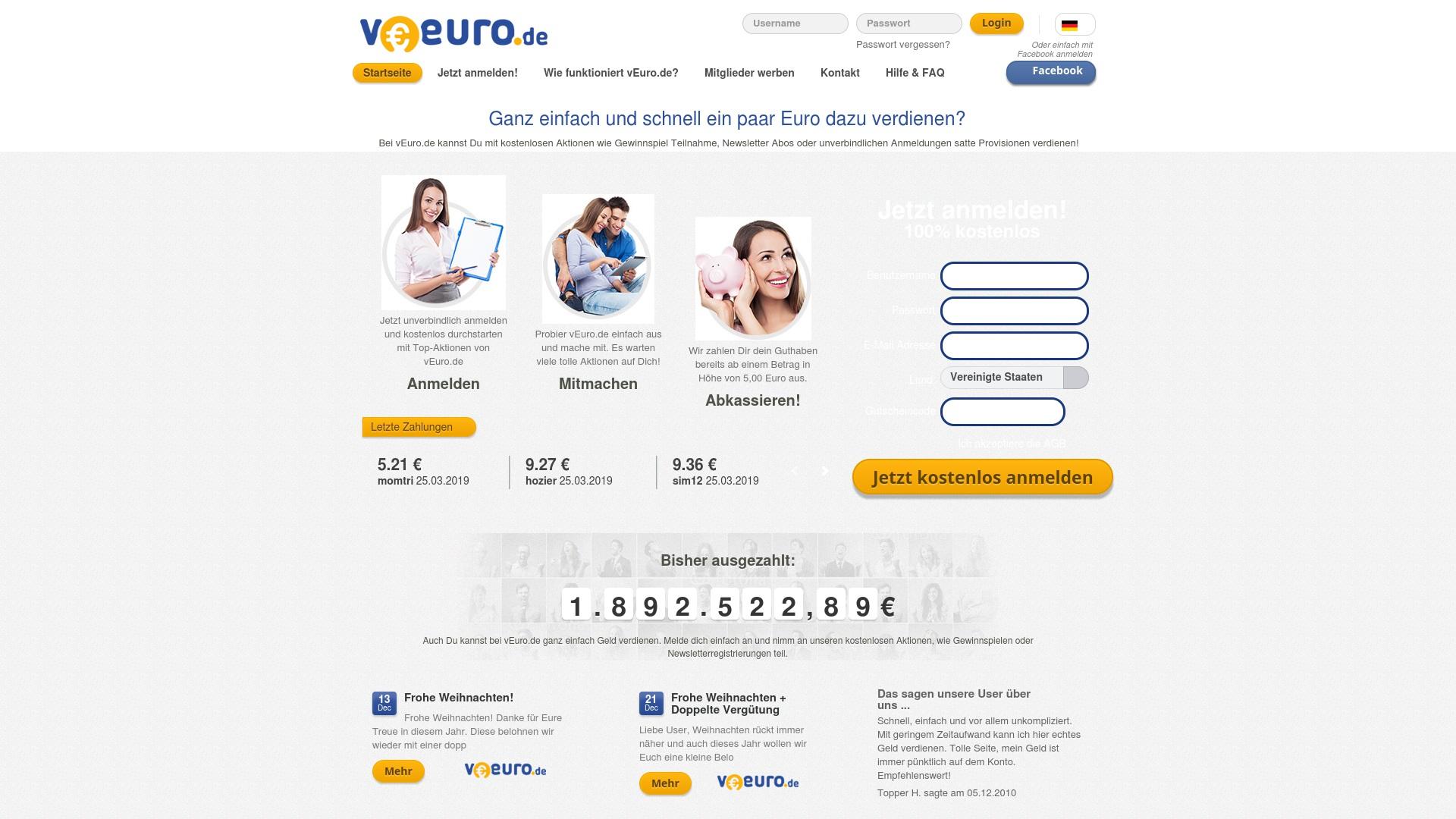 Gutschein für Veuro: Rabatte für  Veuro sichern