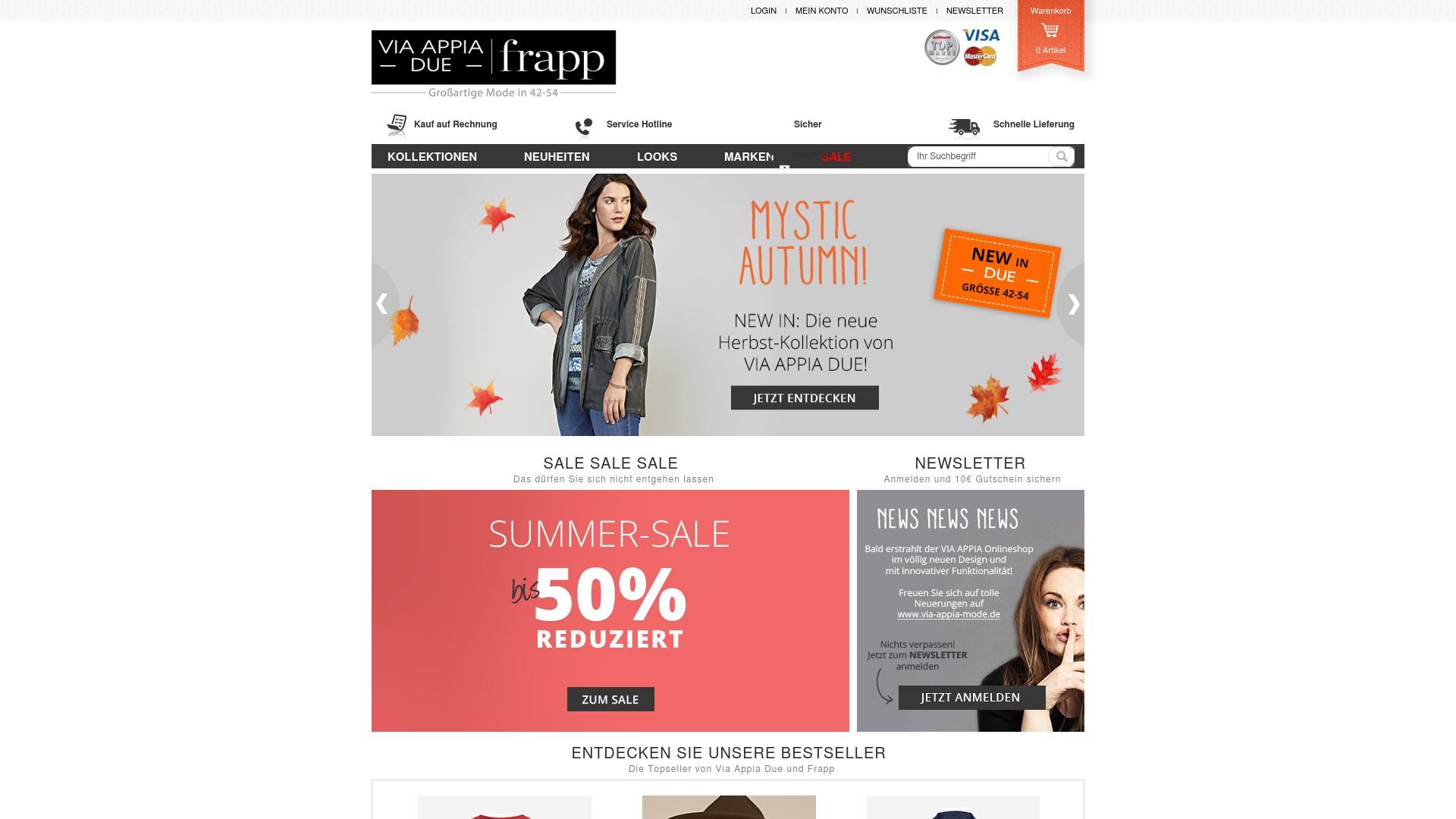 Gutschein für Via-appia-shop: Rabatte für  Via-appia-shop sichern
