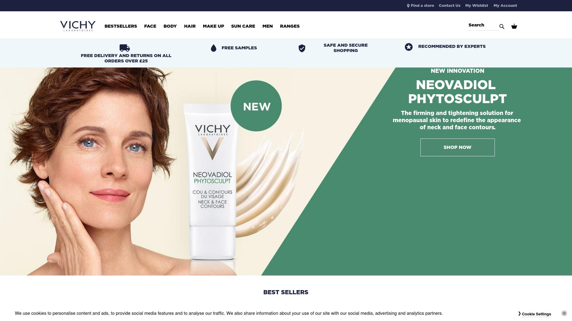 Gutschein für Vichy: Rabatte für  Vichy sichern