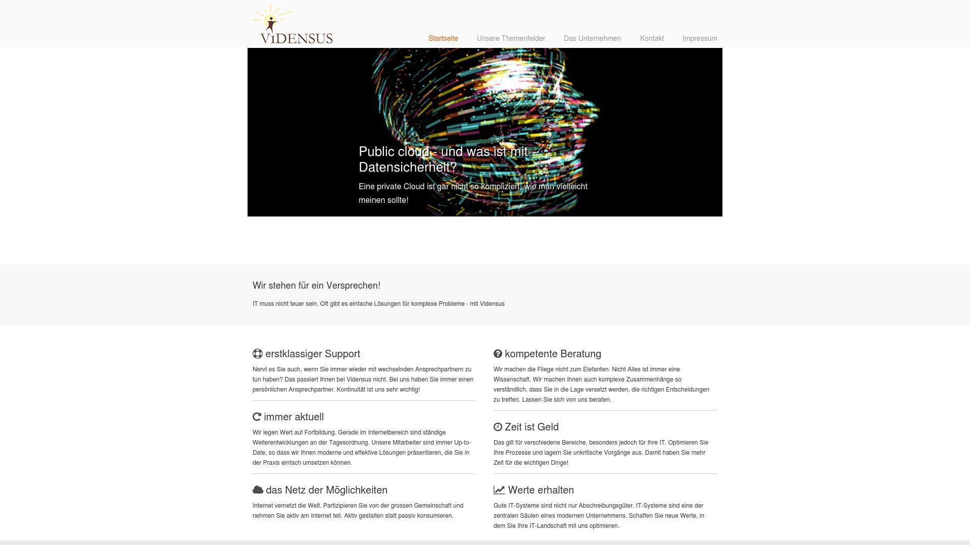 Gutschein für Vidensus-gmbh: Rabatte für  Vidensus-gmbh sichern