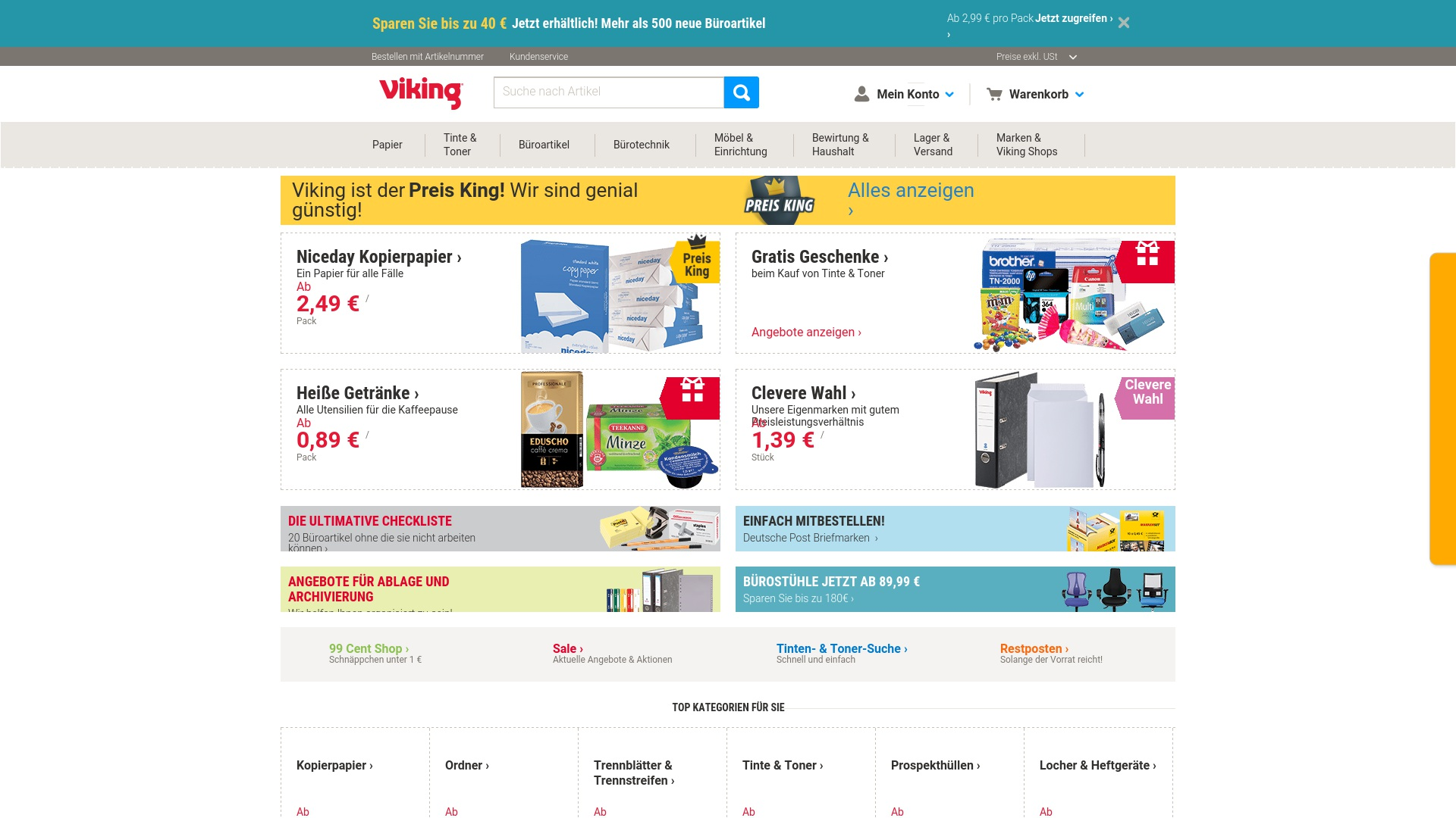 Gutschein für Viking: Rabatte für  Viking sichern
