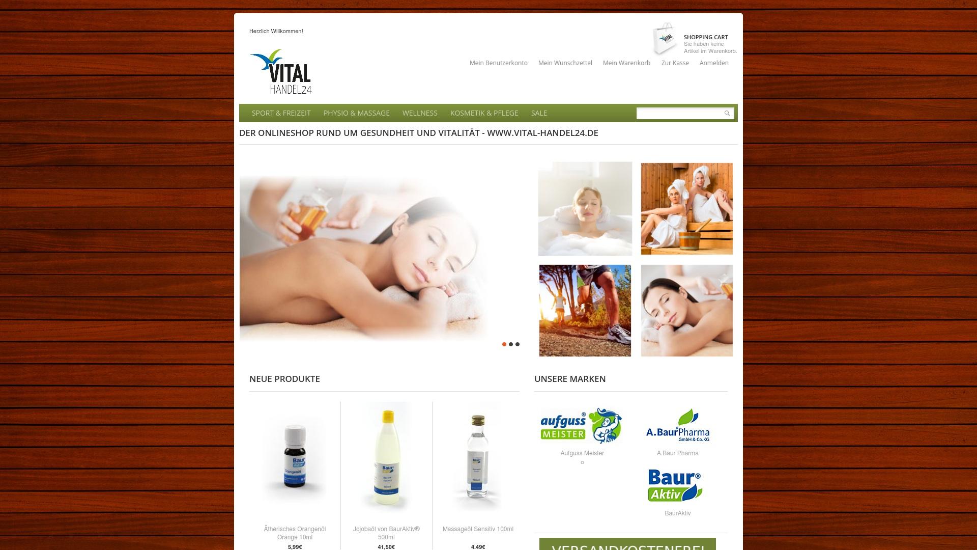 Gutschein für Vital-handel24: Rabatte für  Vital-handel24 sichern
