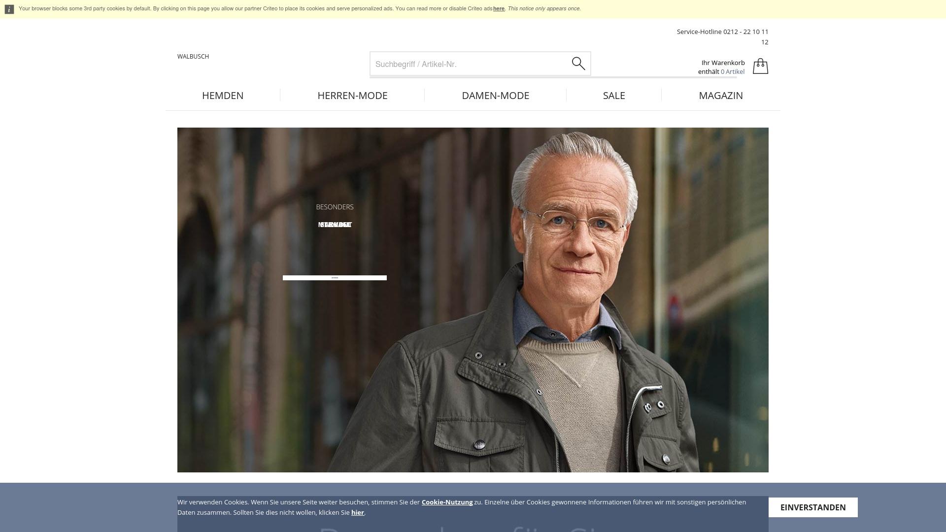 Gutschein für Walbusch: Rabatte für  Walbusch sichern