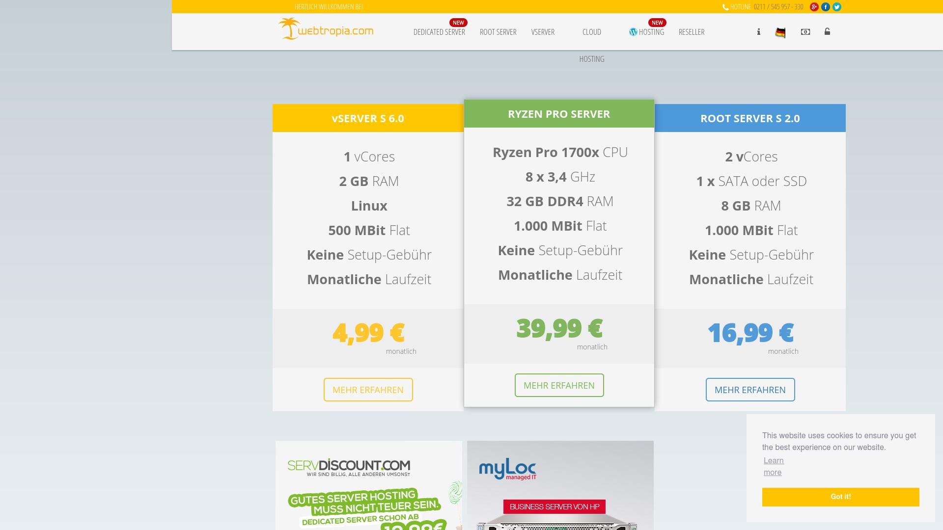 Gutschein für Webtropia: Rabatte für  Webtropia sichern