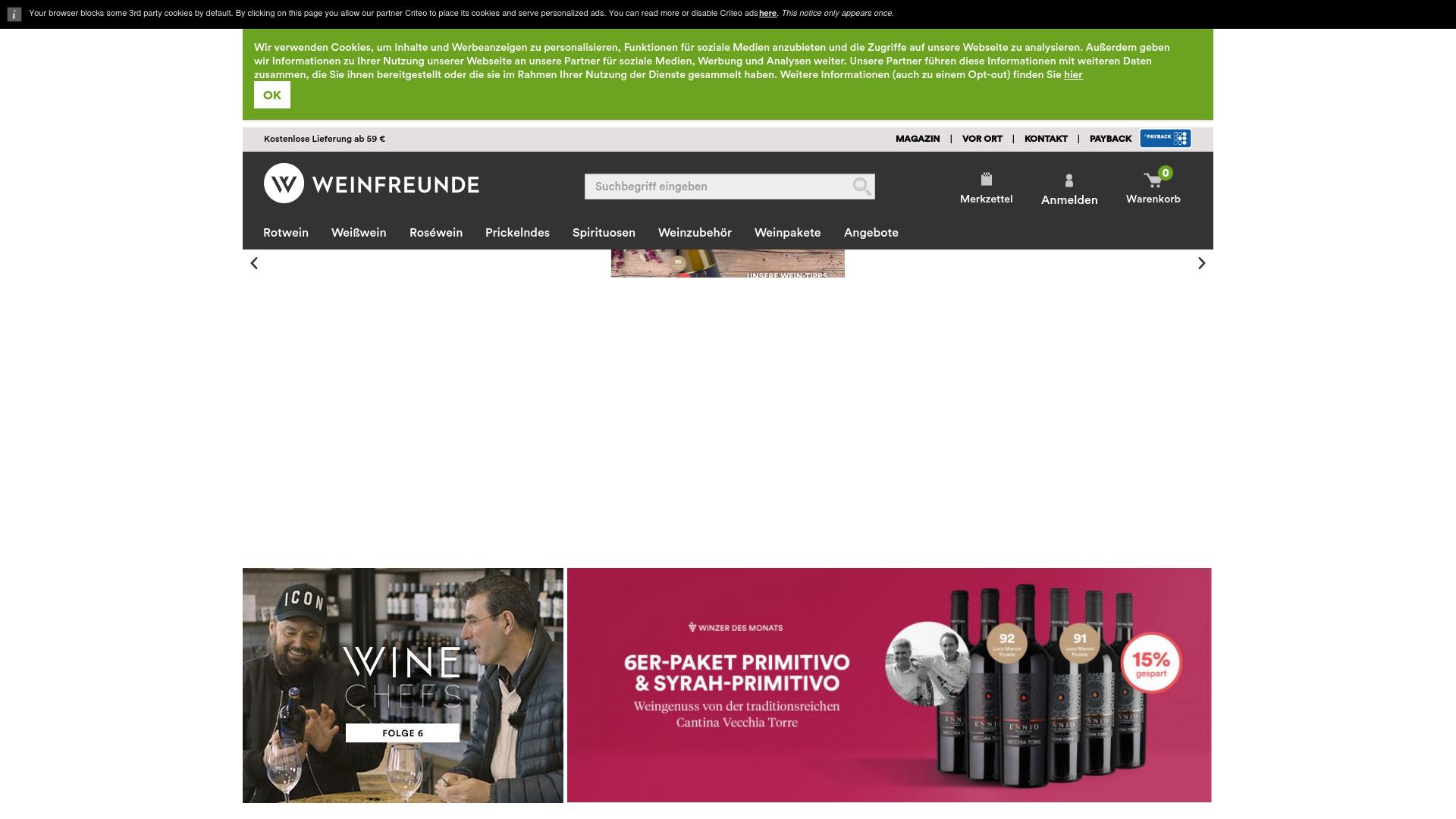 Gutschein für Weinfreunde: Rabatte für  Weinfreunde sichern