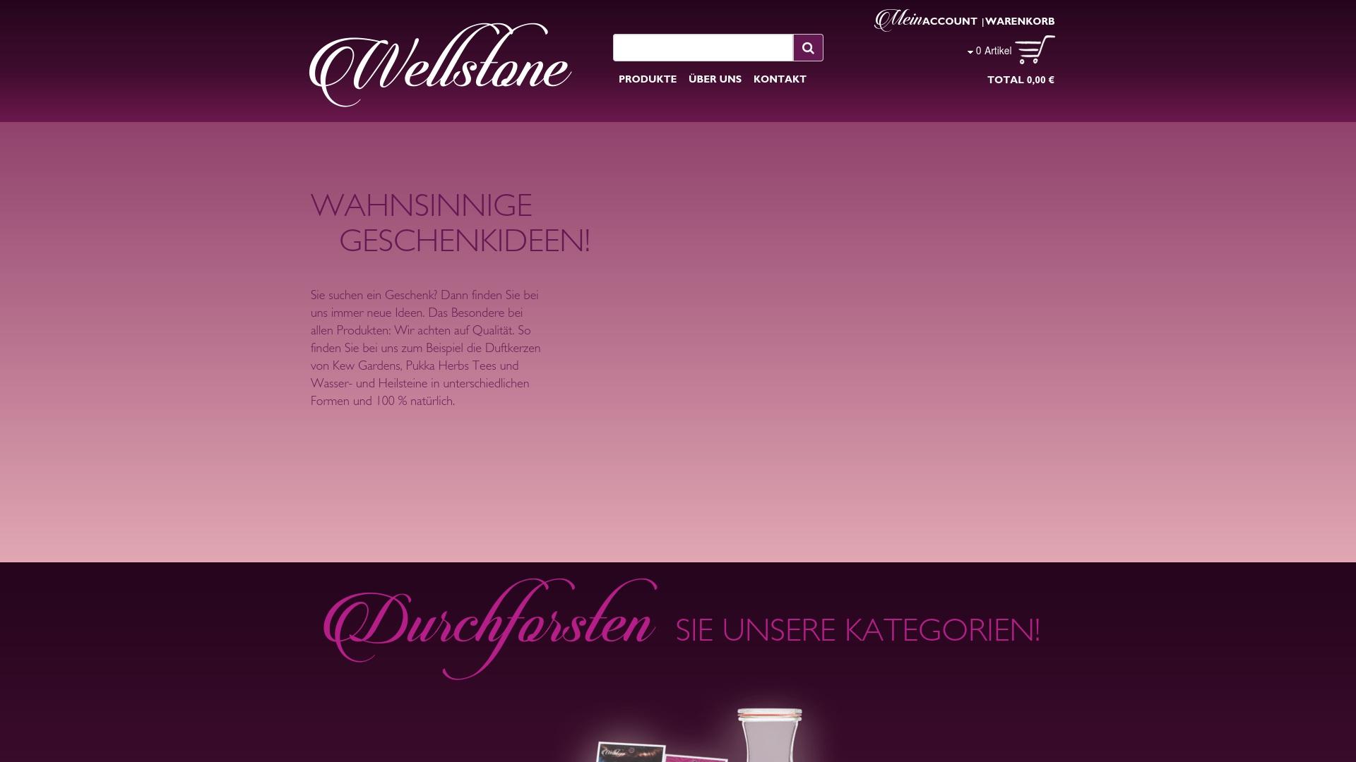 Gutschein für Wellstone-shop: Rabatte für  Wellstone-shop sichern