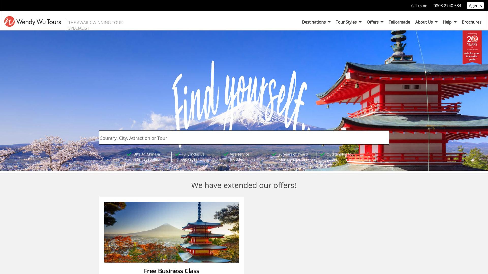 Gutschein für Wendywutours: Rabatte für  Wendywutours sichern