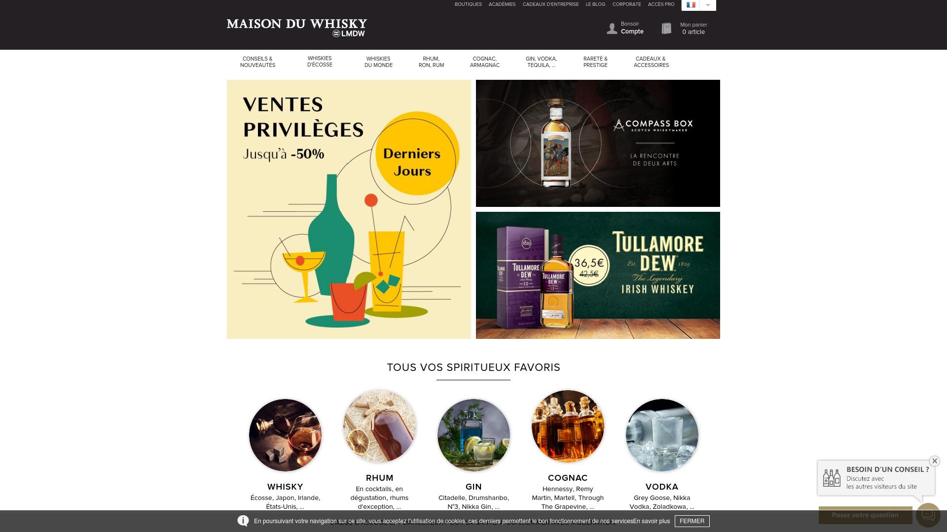 Gutschein für Whisky: Rabatte für  Whisky sichern