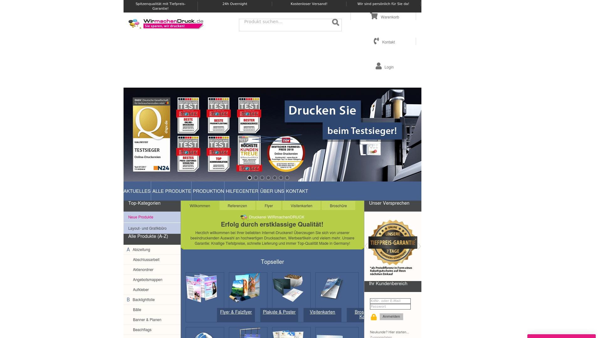 Gutschein für Wir-machen-druck: Rabatte für  Wir-machen-druck sichern