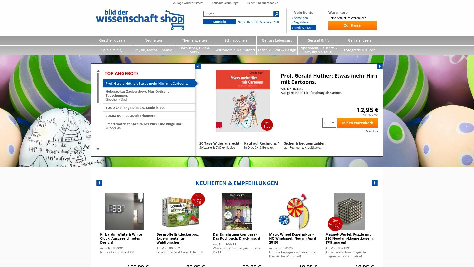 Gutschein für Wissenschaft-shop: Rabatte für  Wissenschaft-shop sichern