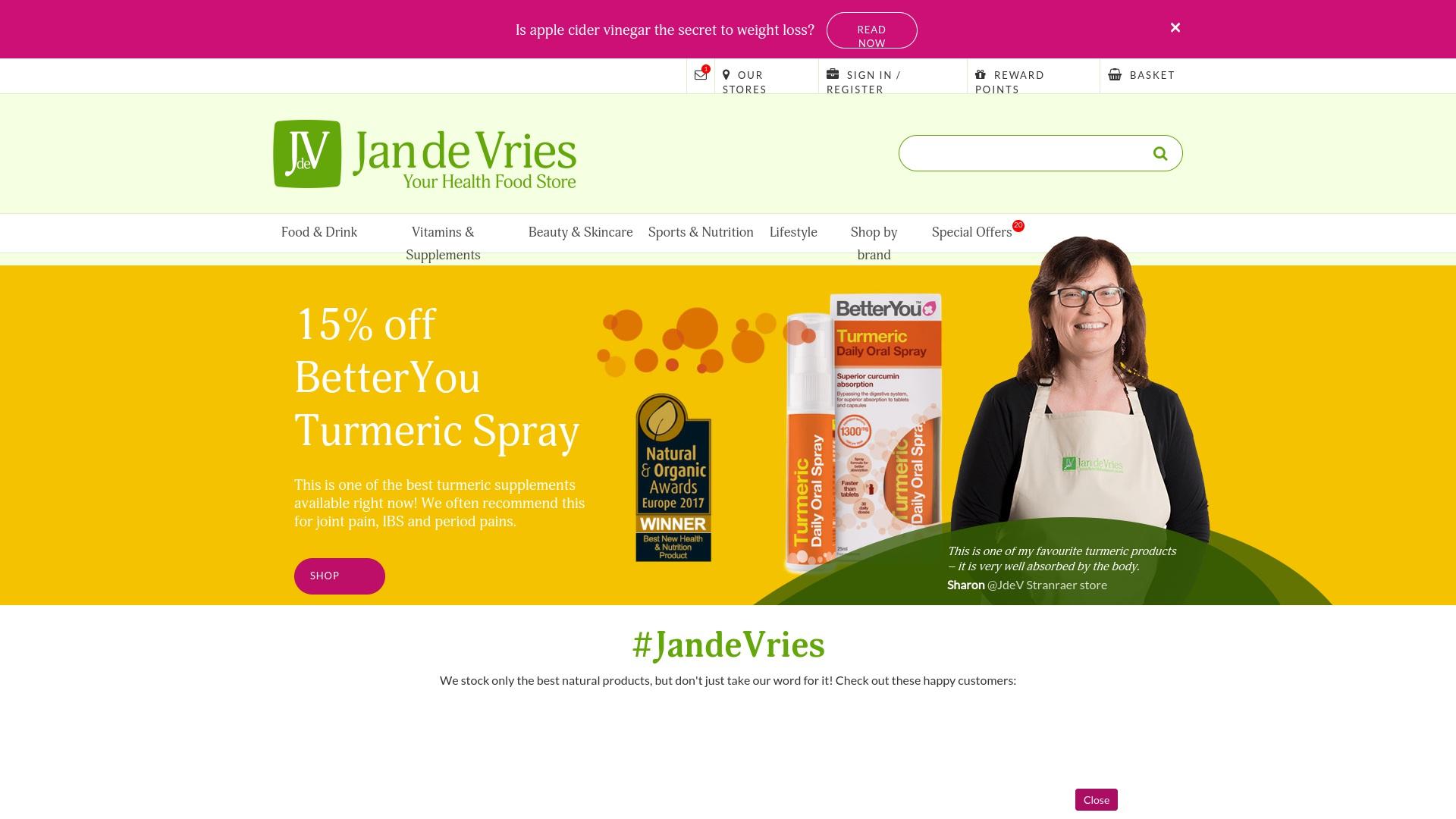 Gutschein für Yourhealthfoodstore: Rabatte für  Yourhealthfoodstore sichern