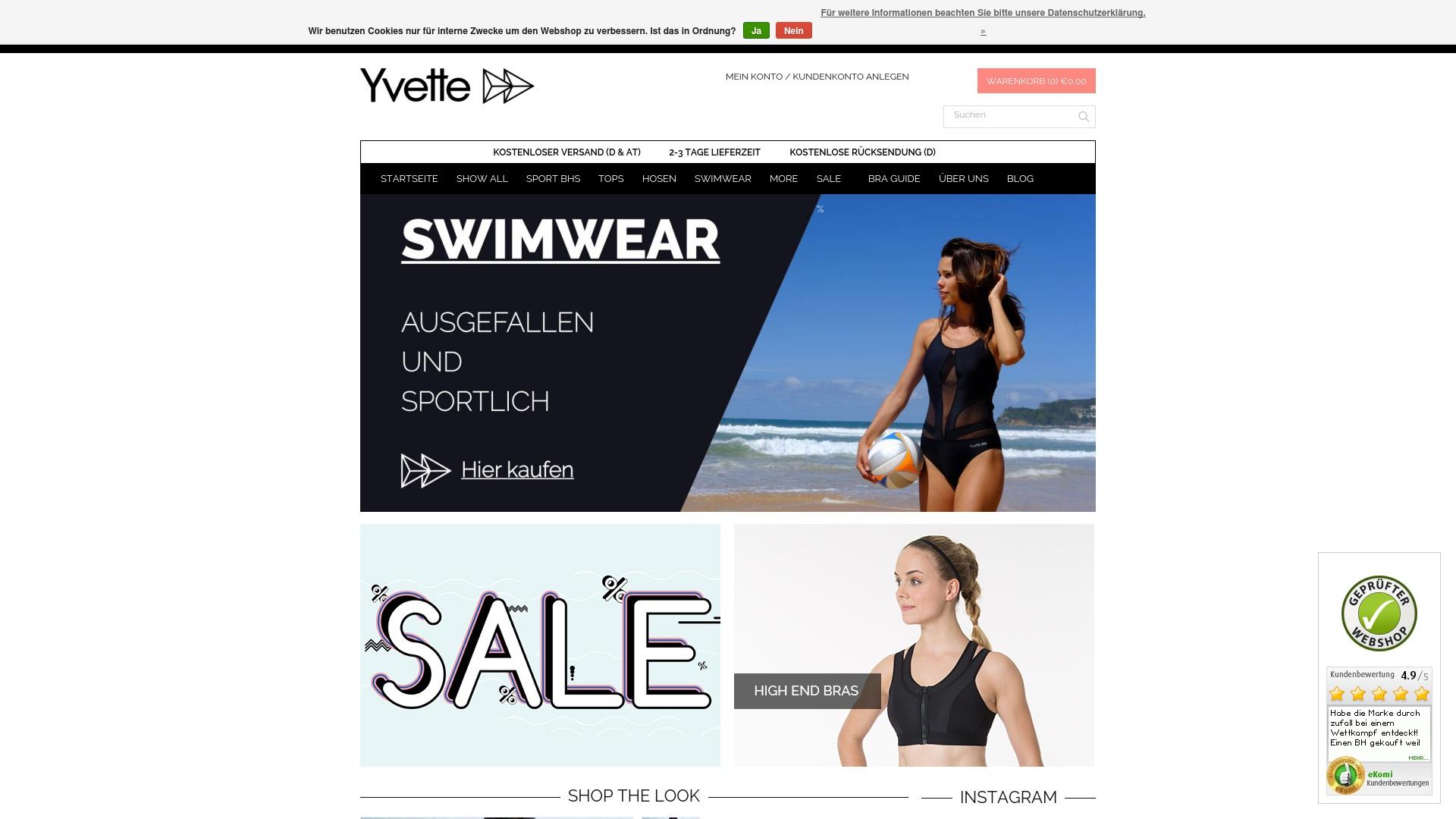 Gutschein für Yvettesports: Rabatte für  Yvettesports sichern