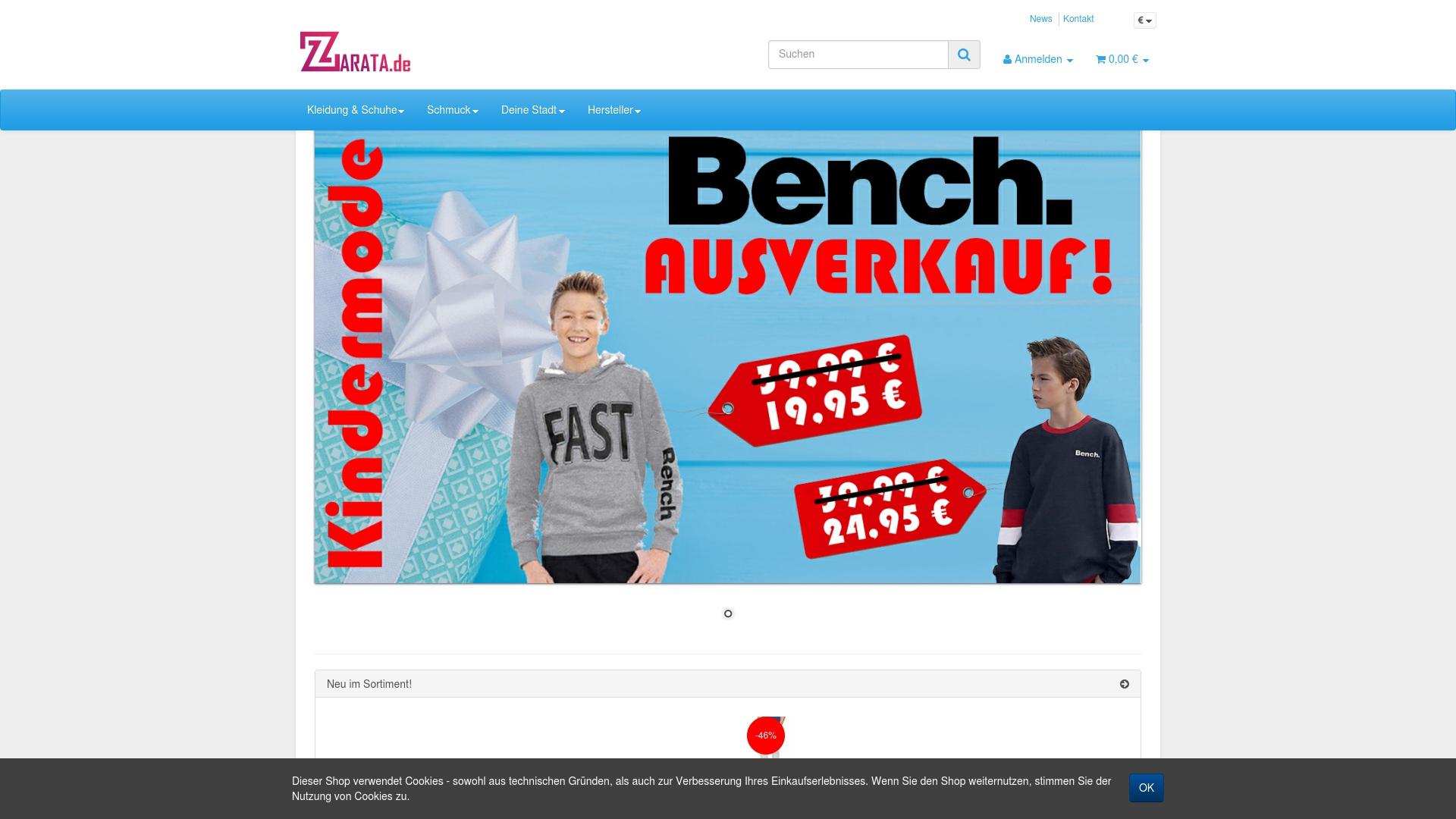Gutschein für Zarata: Rabatte für  Zarata sichern
