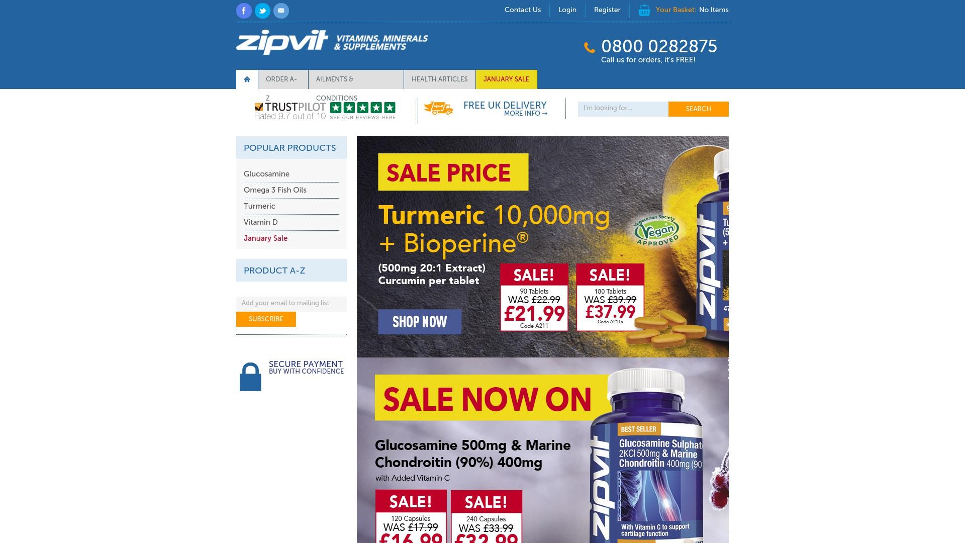 Gutschein für Zipvit: Rabatte für  Zipvit sichern