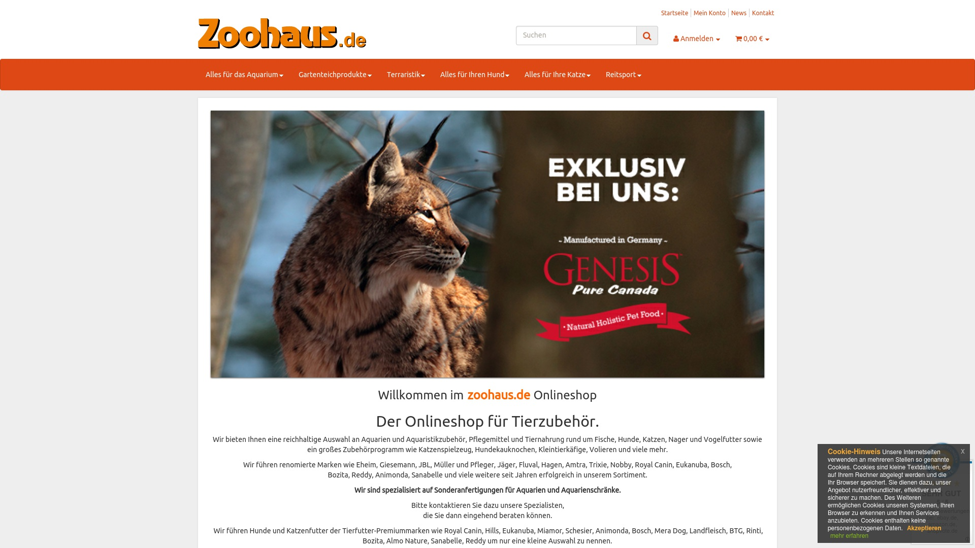 Gutschein für Zoohaus: Rabatte für  Zoohaus sichern